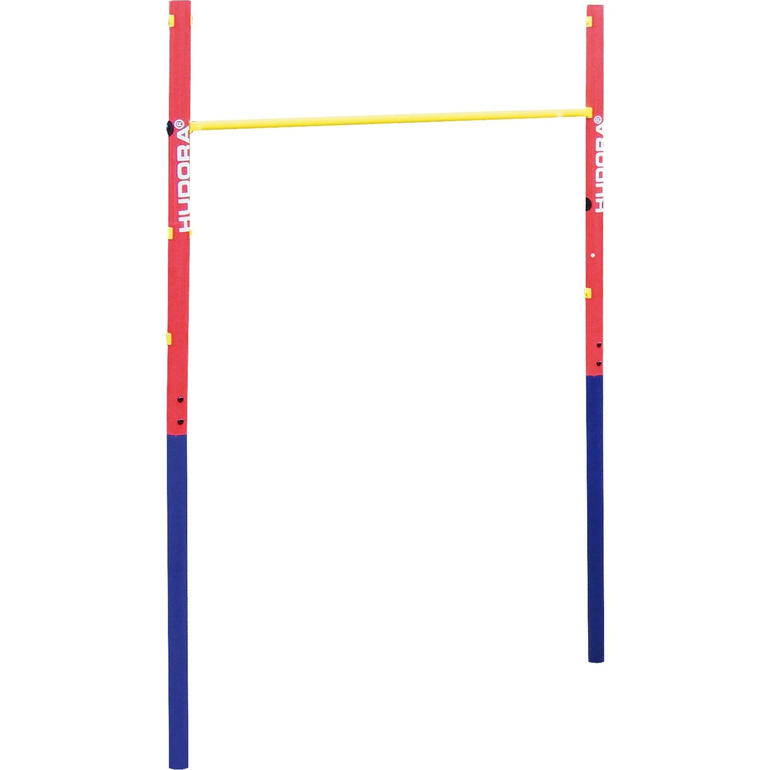Fabian - Barre Fixe De Gymnastique, Appareil De Fitness (Rouge/bleu) encequiconcerne Barre De Gymnastique Pour Jardin