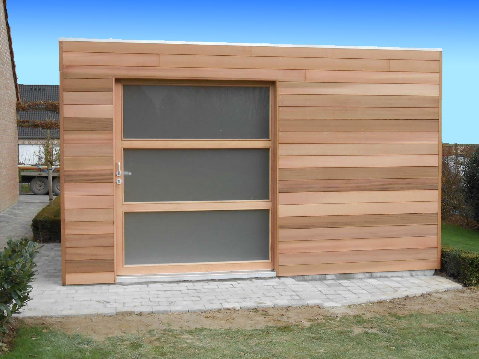 Fabricant Abri De Jardin Moderne Quadro - Abri Toit Plat ... avec Abri De Jardin Fabricant