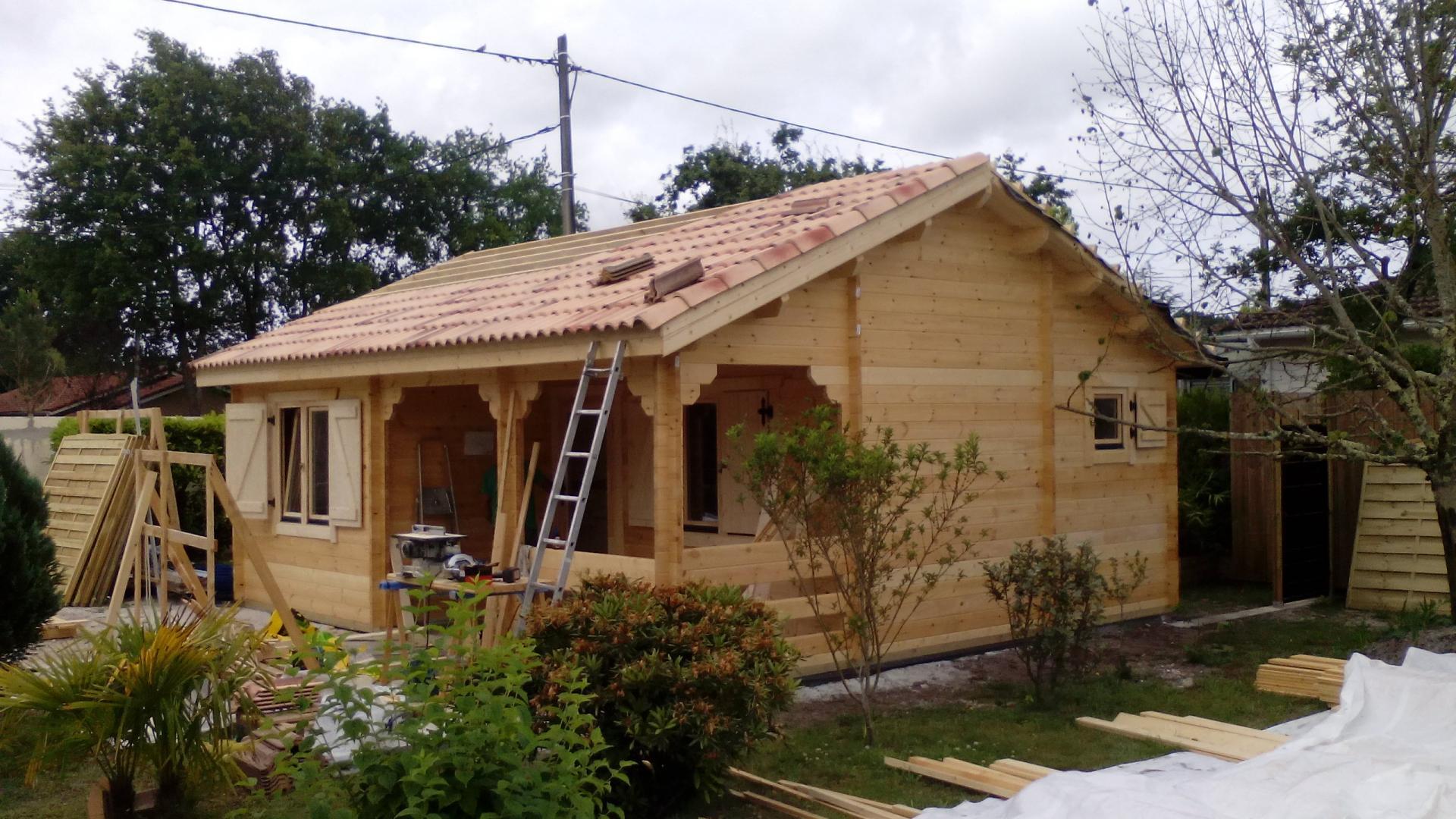 Fabricant Constructeur De Kits Chalets En Bois Habitables - Stmb concernant Cabane De Jardin Occasion