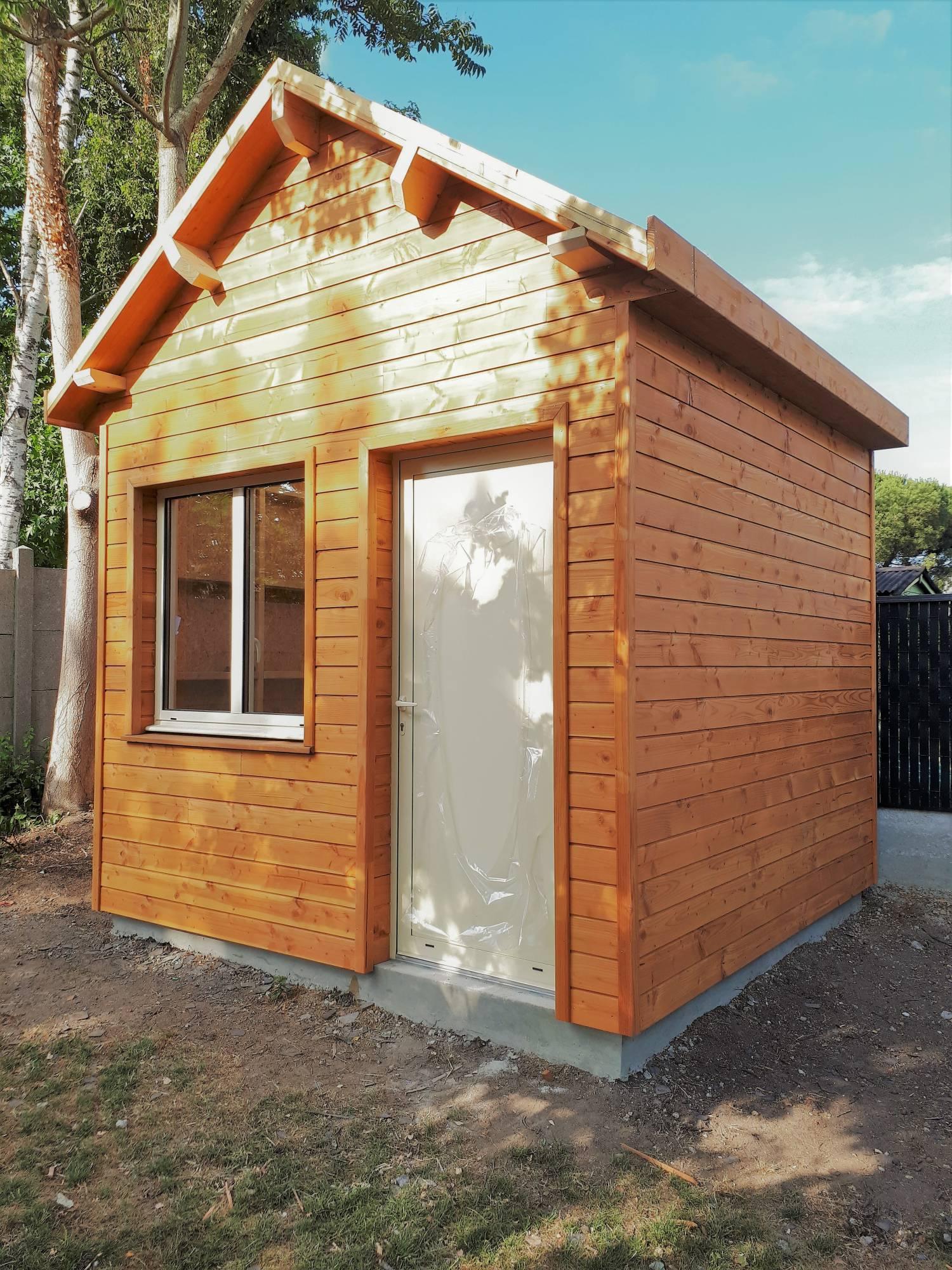 Fabricant D'abri En Bois Pour Voiture, Moto Ou Camping Car ... tout Abri Moto Jardin