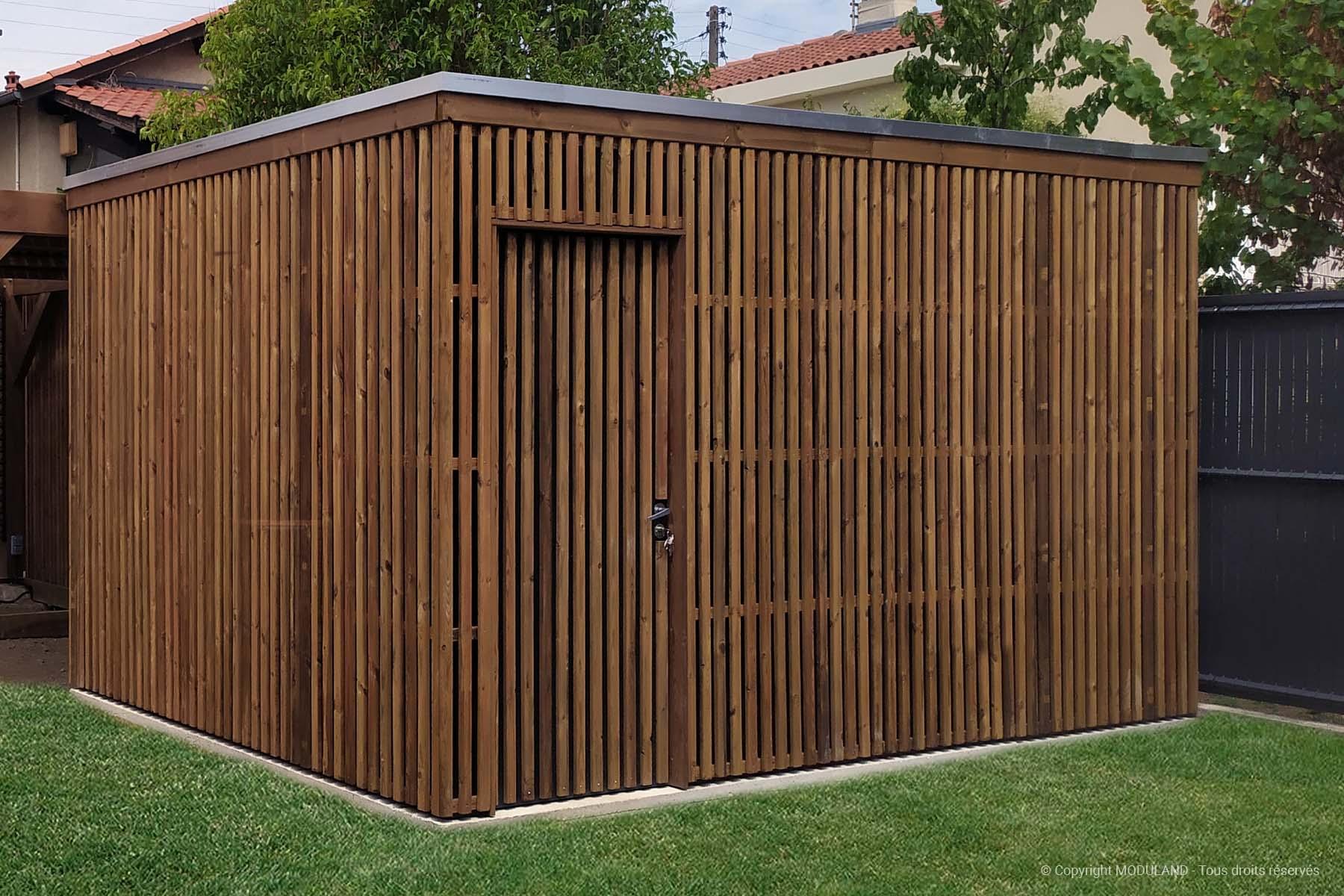 Fabricant D'abris Et Structures Bois Sur Mesure | Moduland pour Fabricant Abri De Jardin