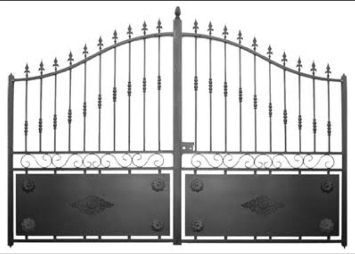 Fabricant, Portail, Portillon, Grille, Clôture, En, Fer ... destiné Portail De Jardin Pas Cher