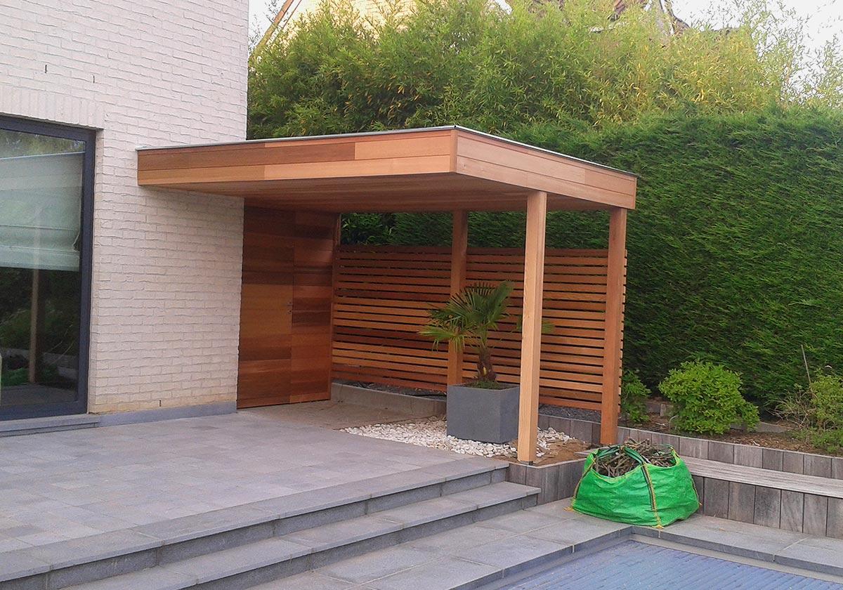 Fabrication D'abri De Jardin Sur Mesure Dans Le Brabant Wallon destiné Abri De Jardin Sur Mesure