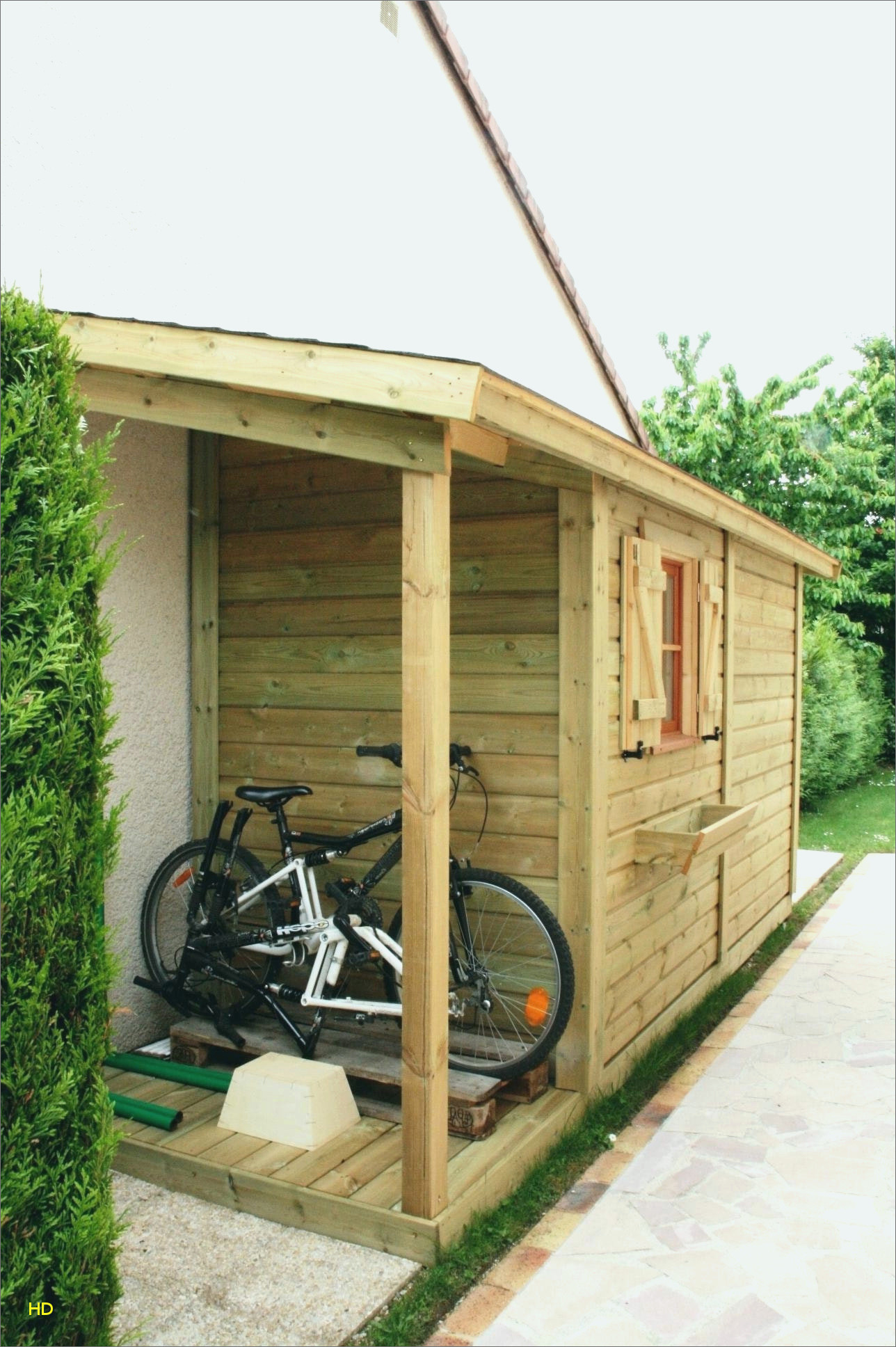 Fabriquer Carport Toit Plat Élégant Abri De Jardin Toit Plat ... encequiconcerne Construire Un Abris De Jardin