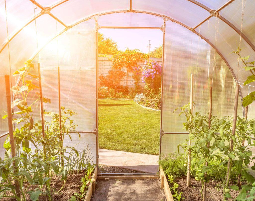 Fabriquer Soi-Même Sa Serre De Jardin - Salon Viving encequiconcerne Tube Pour Serre De Jardin