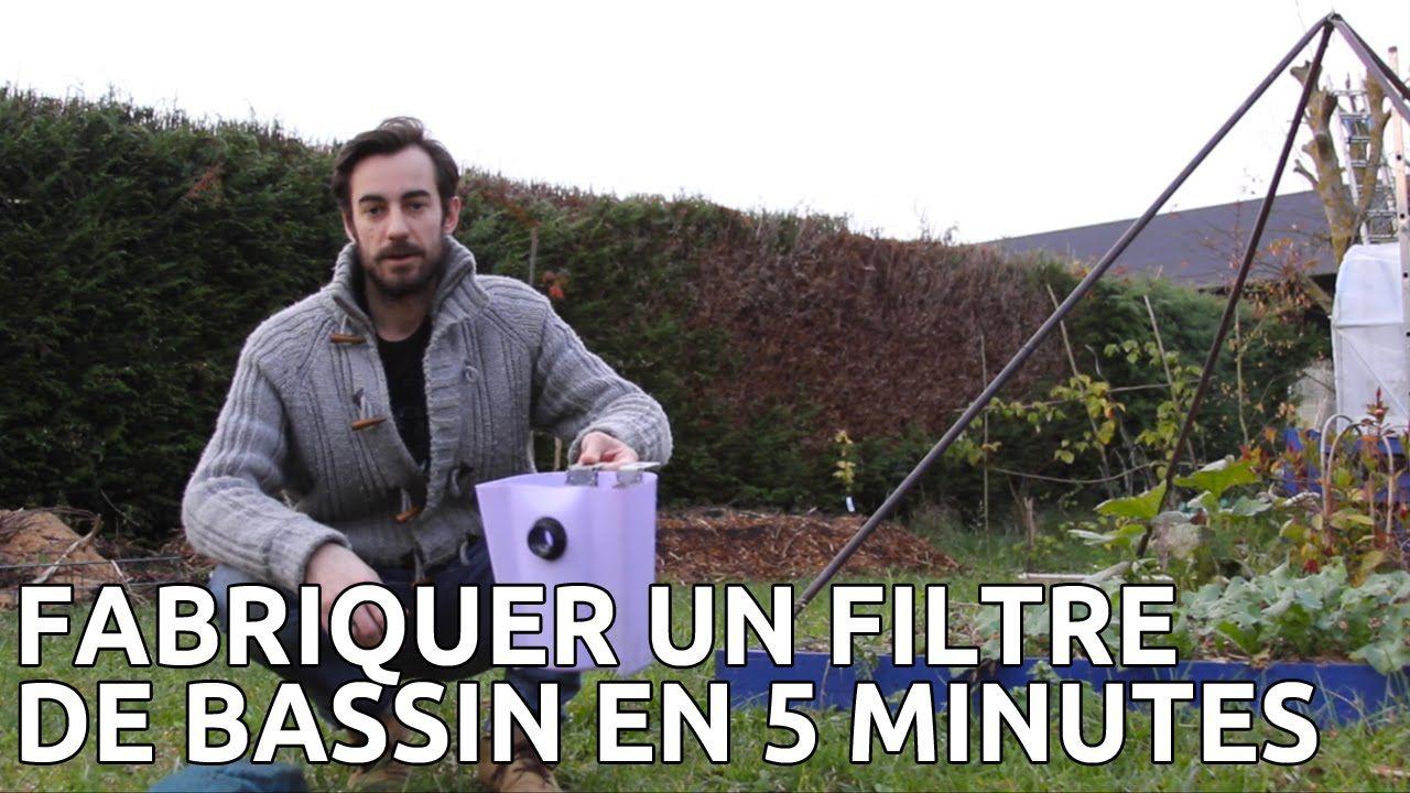 Fabriquer Son Filtre De Bassin Et Aquarium Pour Pas Cher Et ... encequiconcerne Bassin De Jardin Pas Cher