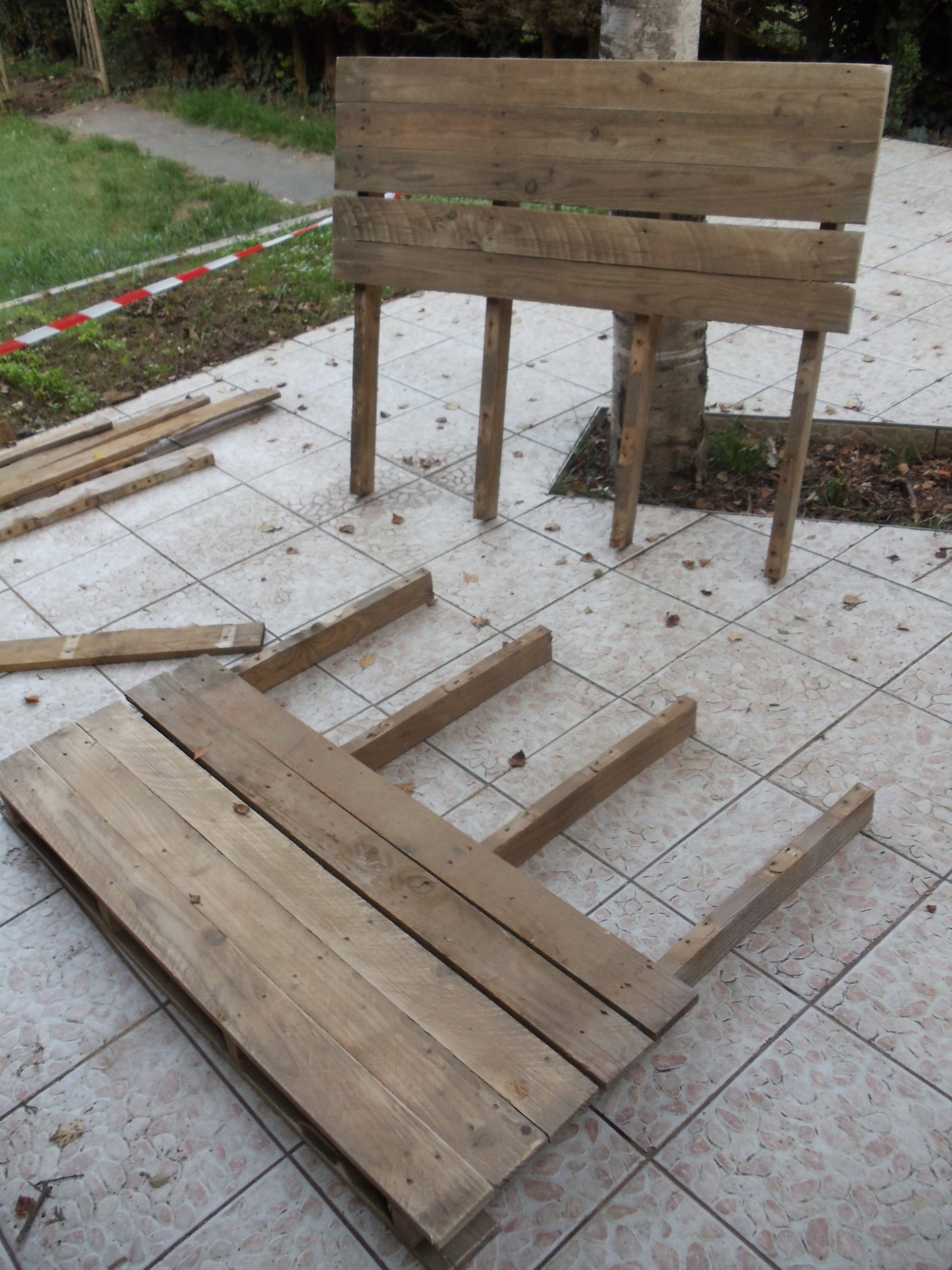 Fabriquer Un Canapé De Jardin En Palette : David Mercereau concernant Canapé De Jardin En Palette