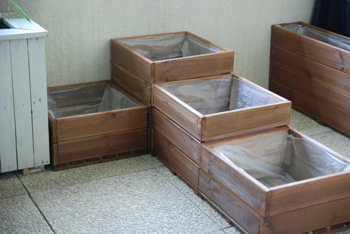 Fabriquer Un Carré Potager Pour Balcon Ou Terrasse intérieur Fabriquer Un Jardin En Hauteur