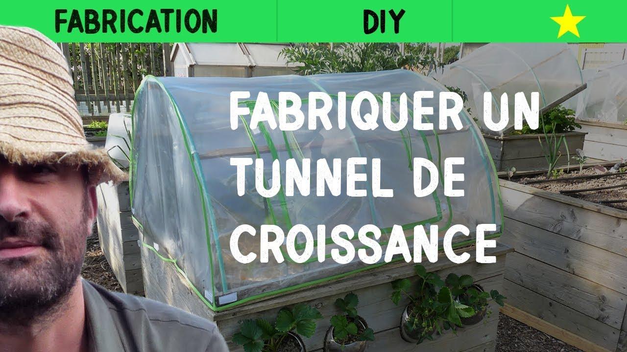 Fabriquer Un Tunnel Maraîcher dedans Comment Faire Un Tunnel De Jardin