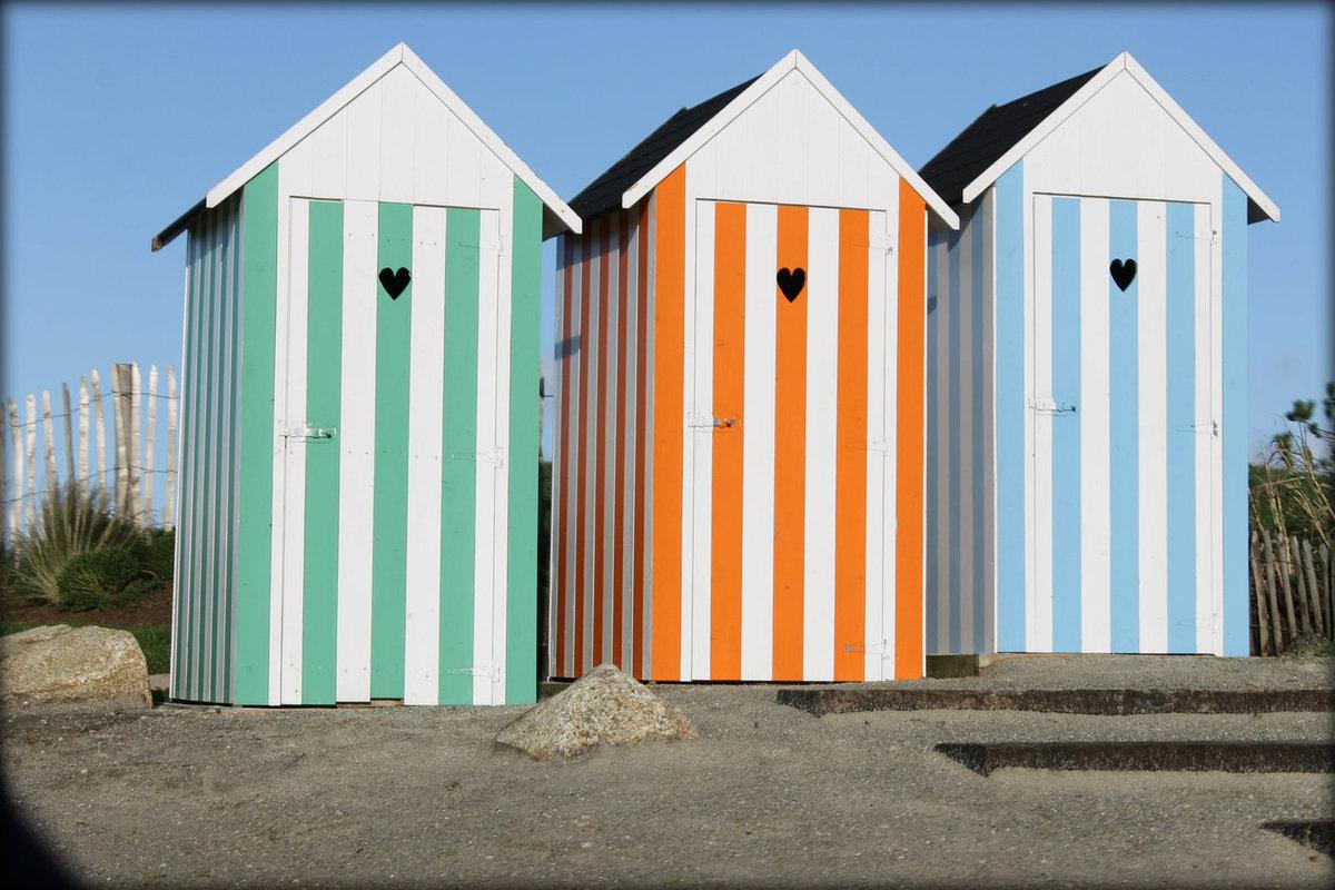 Fabriquer Une Cabine De Plage (De Piscine) - Blog De Travaux ... intérieur Cabine De Plage Pour Jardin