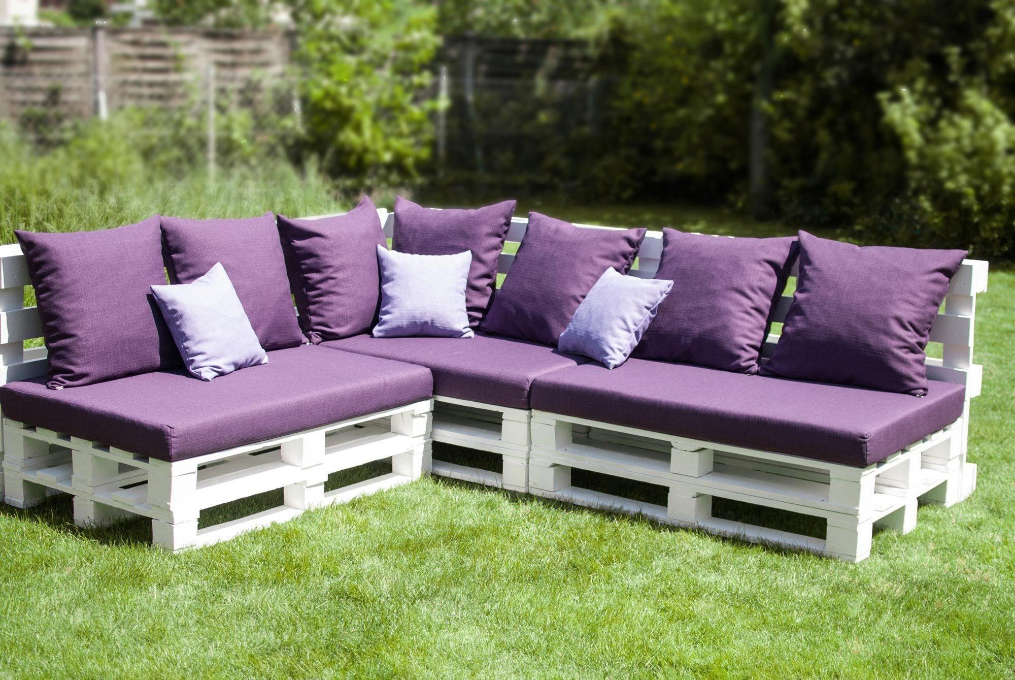 Fabriquez Votre Salon De Jardin En Palette | Blog Xyladecor encequiconcerne Canapé De Jardin En Palette