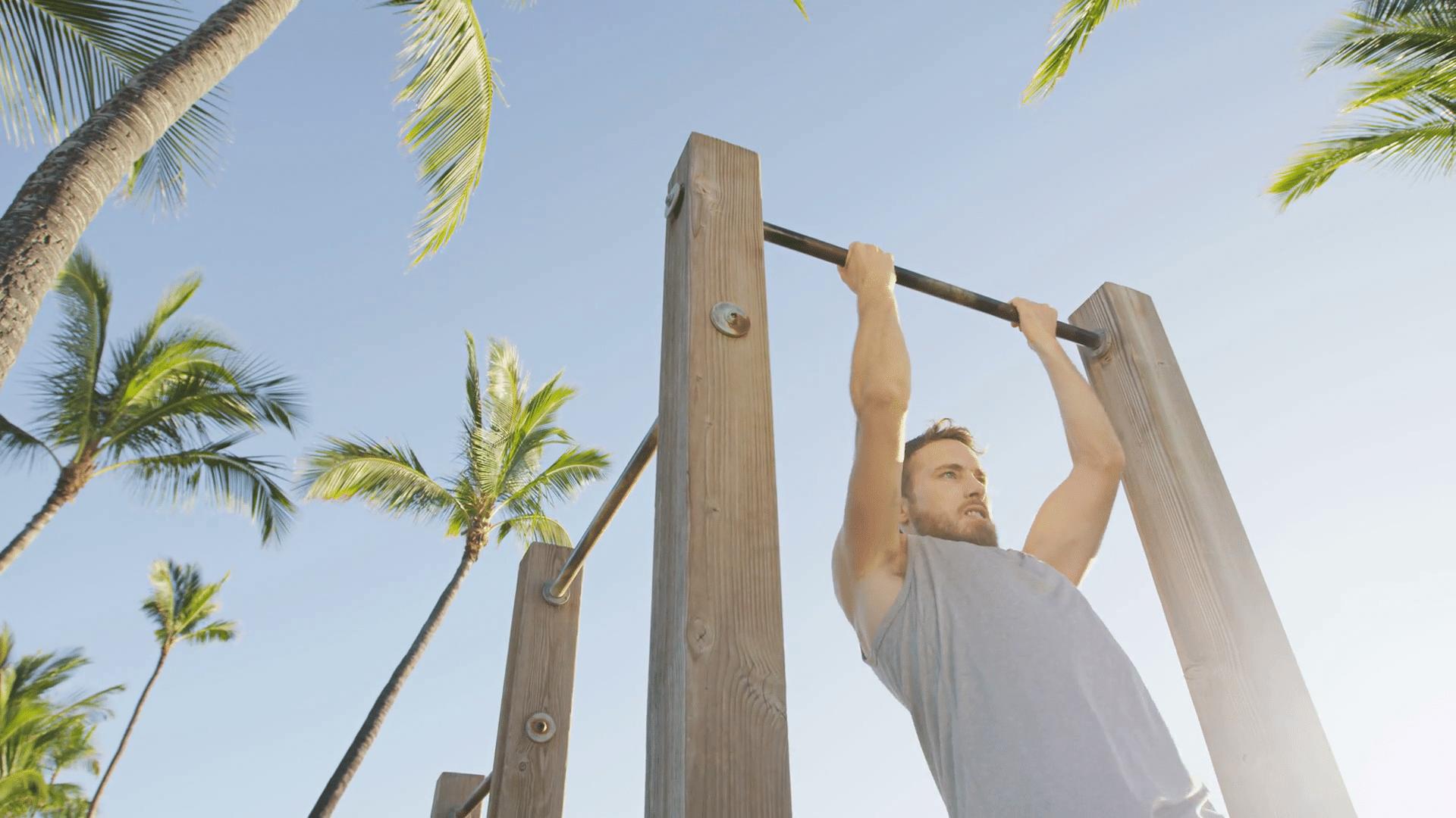 Faire Des Tractions En Extérieur - Pullup Fitness dedans Barre De Traction Jardin