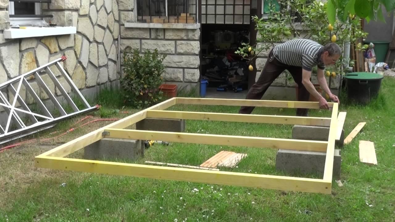 Faire Un Plancher Pour Abri De Jardin - 28 Images - Par ... concernant Faire Un Abris De Jardin