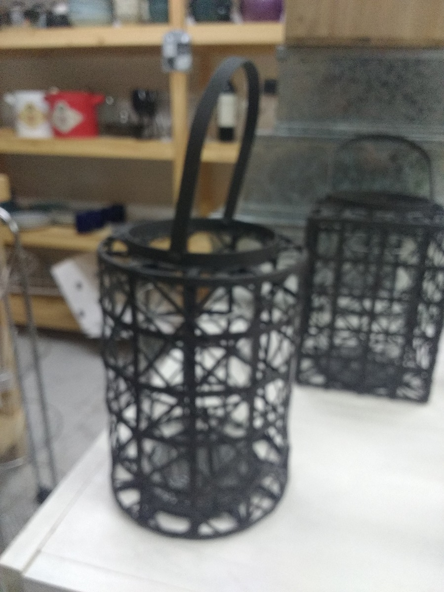 Fanal Porta Vela. -Metal Marron - Deco Hogar Jardin encequiconcerne Deco Metal Jardin