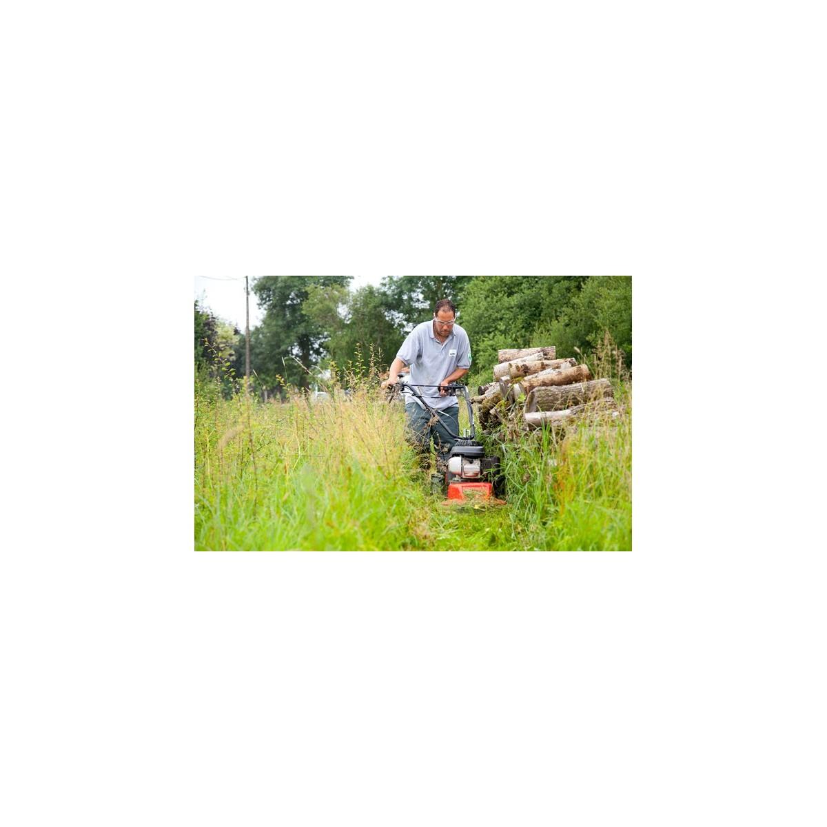 Faucheuse Rotative À Roues Rotomax60 - Menue Culture pour Faucheuse Jardin