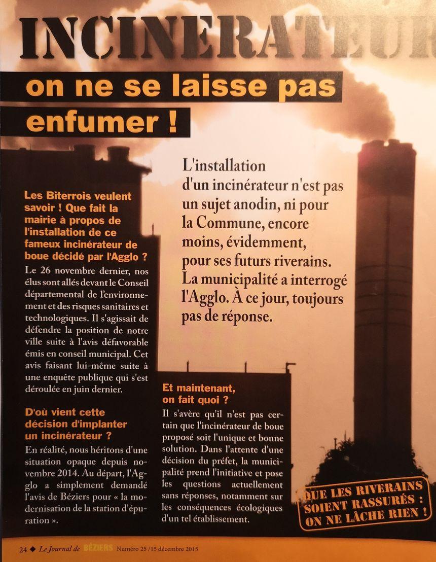 Faut-Il Avoir Peur De L'incinérateur De Béziers ? dedans Incinérateur De Jardin