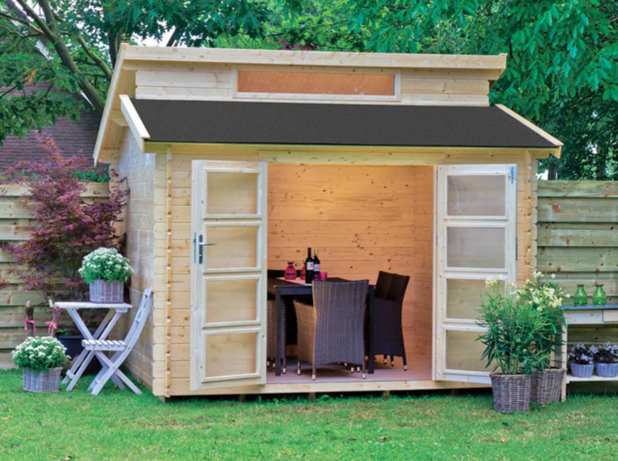 Faut-Il Un Permis De Construire Pour Son Abri De Jardin ? intérieur Construire Une Cabane De Jardin