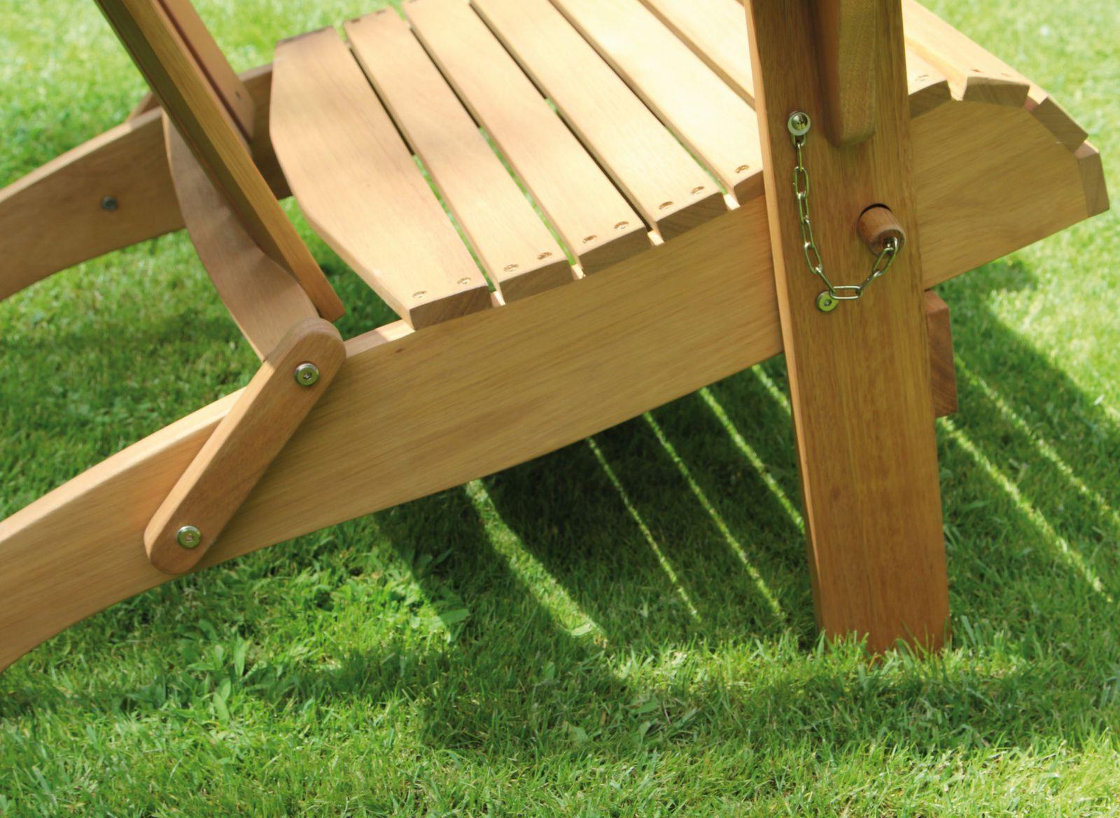 Fauteuil Adirondac à Fauteuil De Jardin En Bois Style Americain