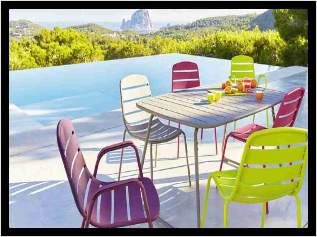 Fauteuil Carrefour Charmant Ensemble Table Et Chaise ... dedans Salon De Jardin En Résine Tressée Carrefour