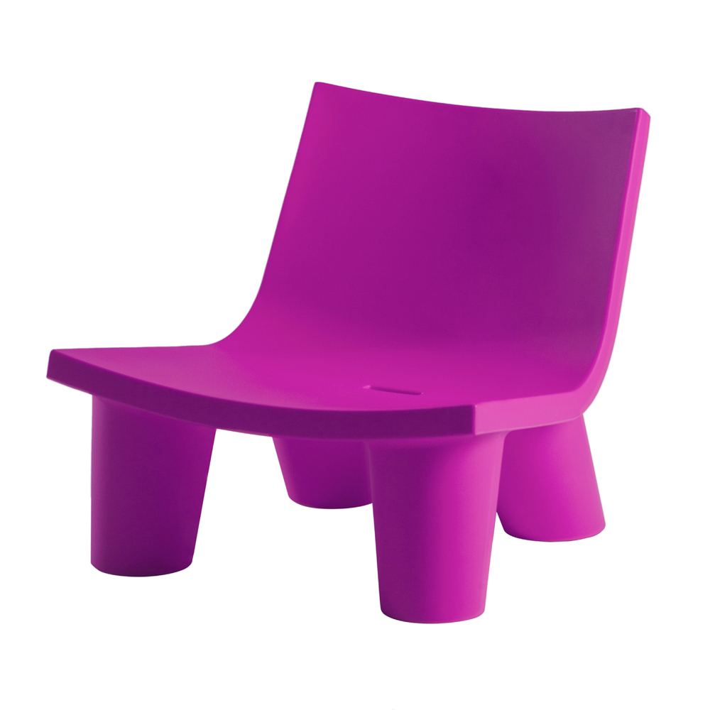 Fauteuil Coloré Pour Extérieur / Intérieur Slide Low Lita Fabriqué En Italie intérieur Chaise Jardin Colorée