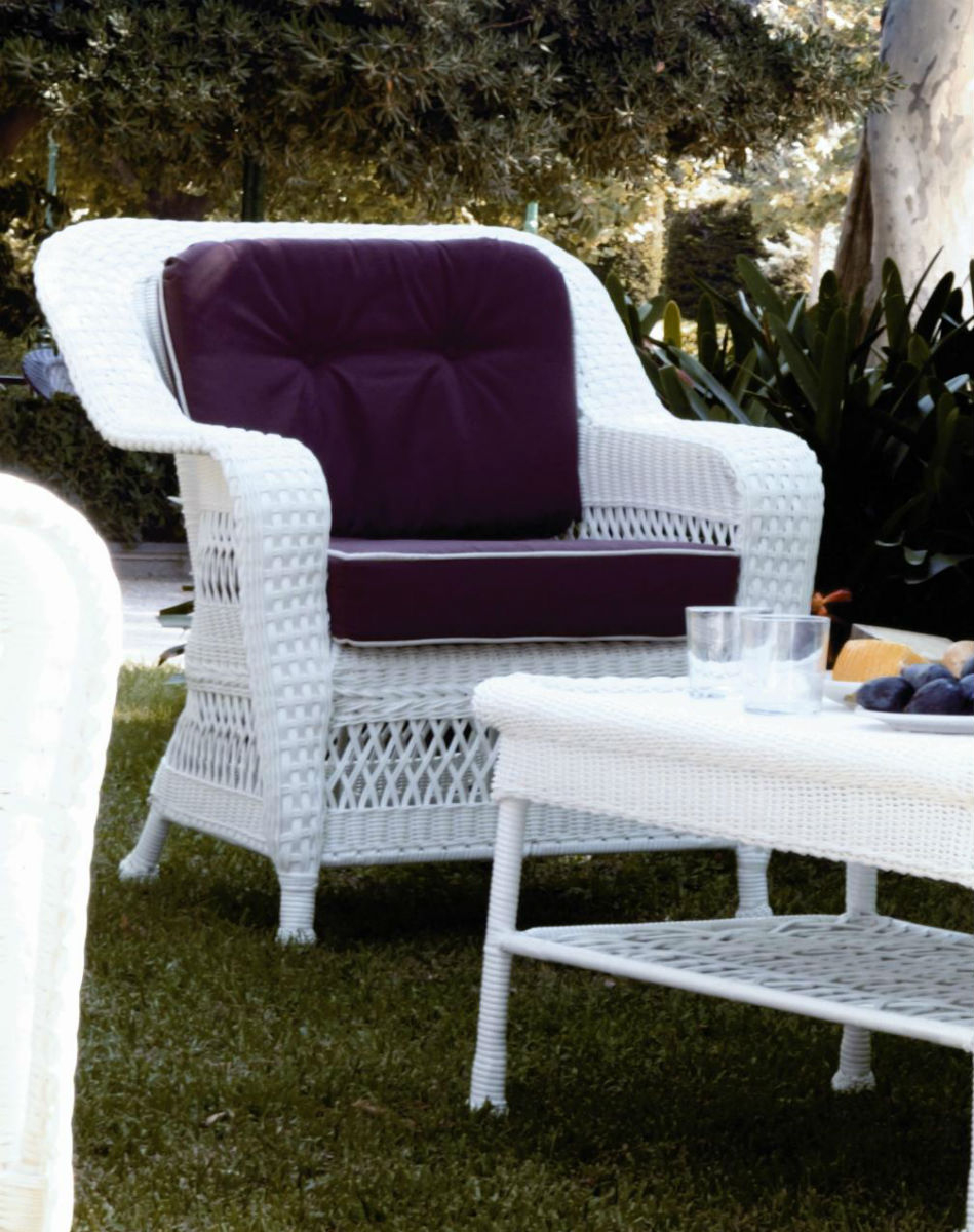 Fauteuil De Jardin En Résine Blanc avec Salon De Jardin En Résine Tressée Blanc