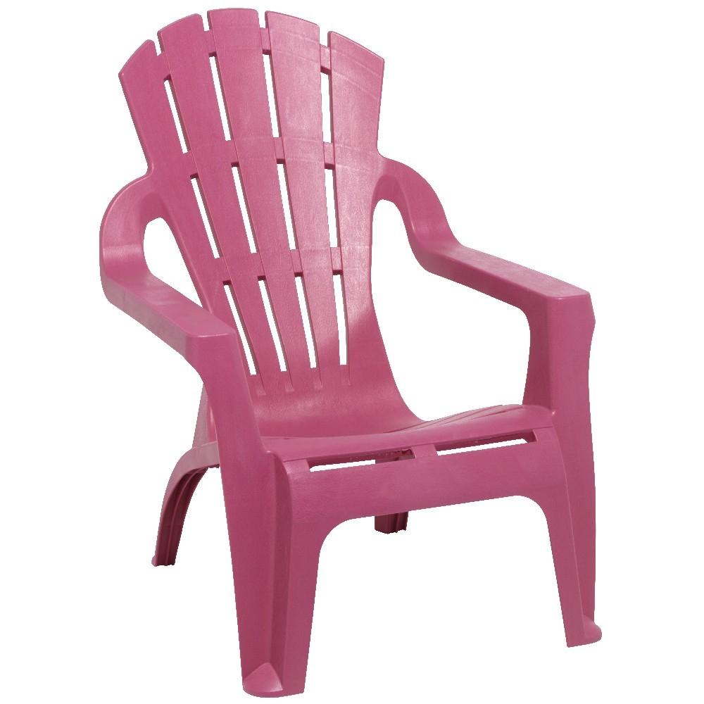 Fauteuil De Jardin Plastique Rose encequiconcerne Chaise Jardin Colorée