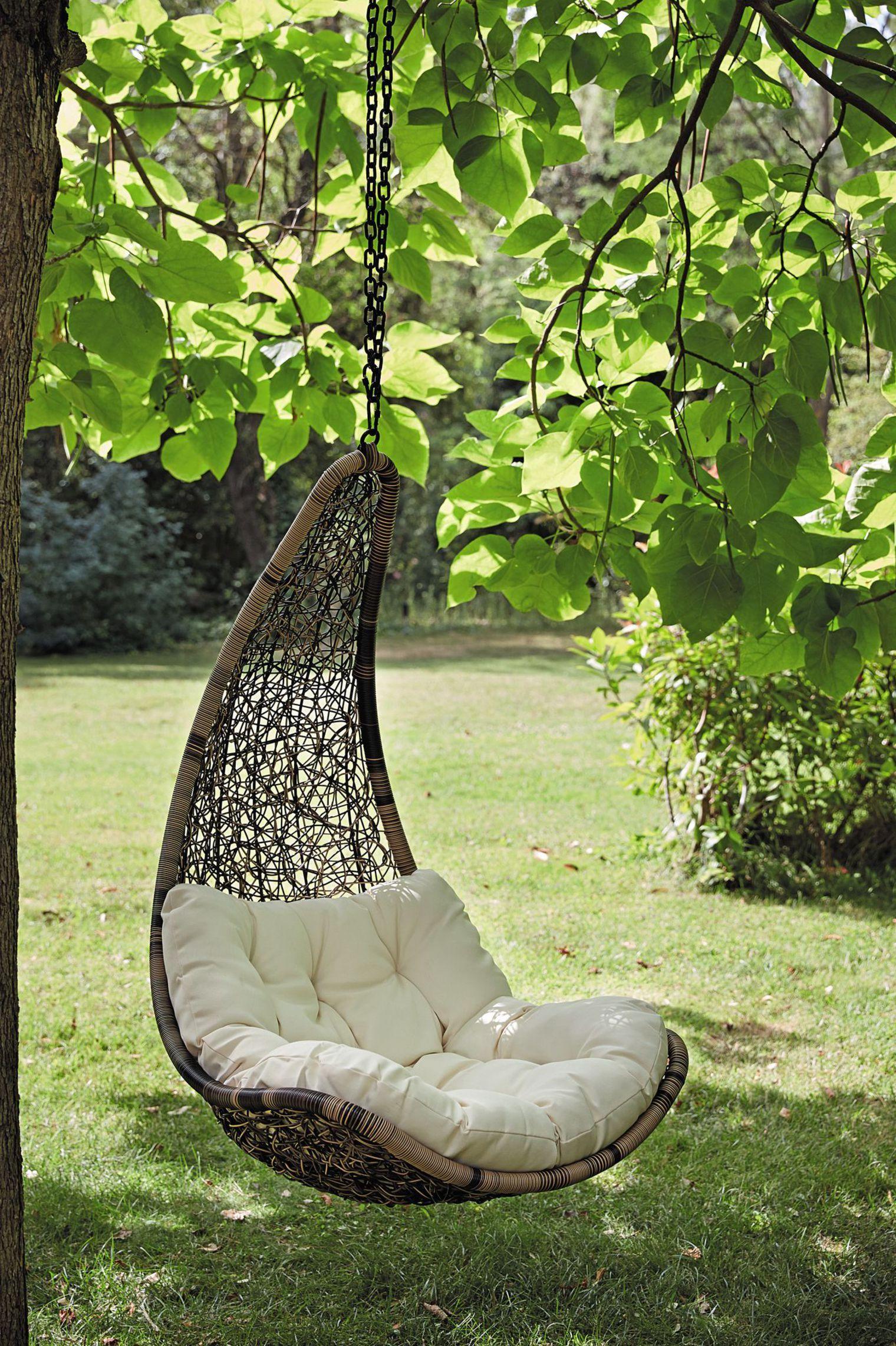 Fauteuil De Jardin Suspendu, Balancelle | Fauteuil Suspendu ... à Chaise Suspendue Jardin