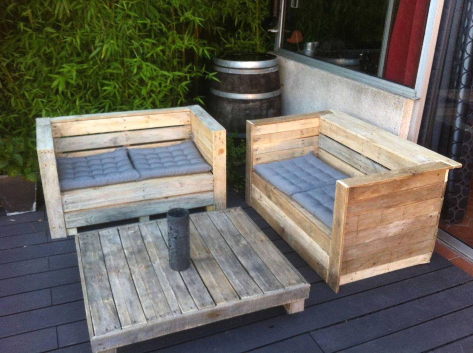 Fauteuil En Palette Plancanap Bois De Canape À Plan Fauteuil ... dedans Plan Pour Fabriquer Un Salon De Jardin En Palette
