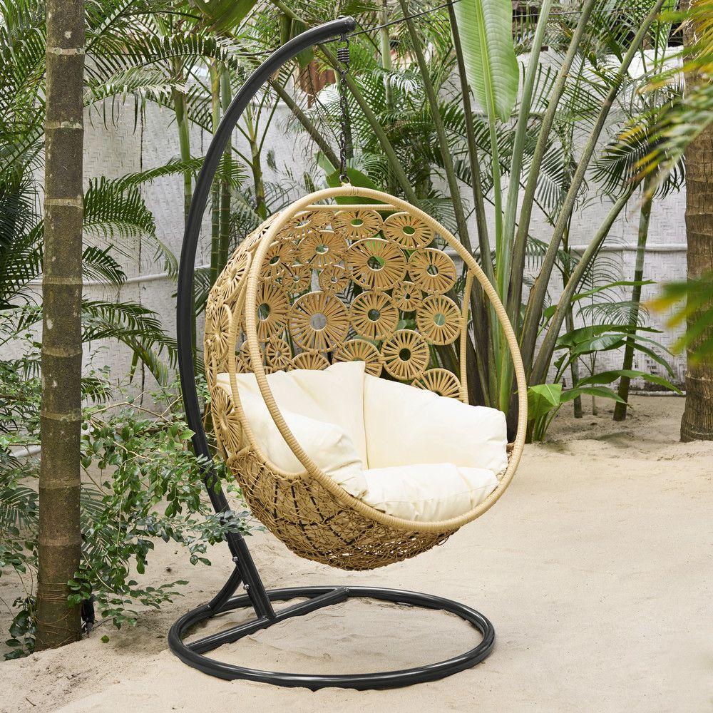 Fauteuil Suspendu De Jardin | Outdoor Armchair, Hanging ... dedans Oeuf Suspendu Jardin