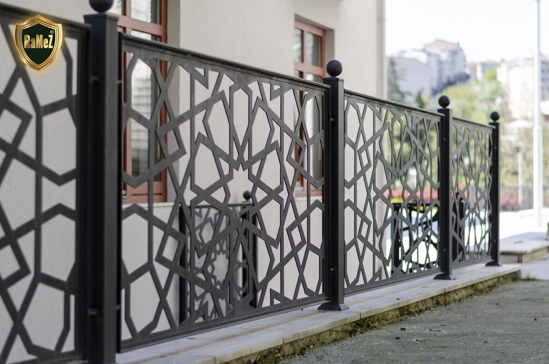 Ferforje Modellerimiz Wrought Iron Garden Gates, Ferforje ... dedans Balustrade De Jardin