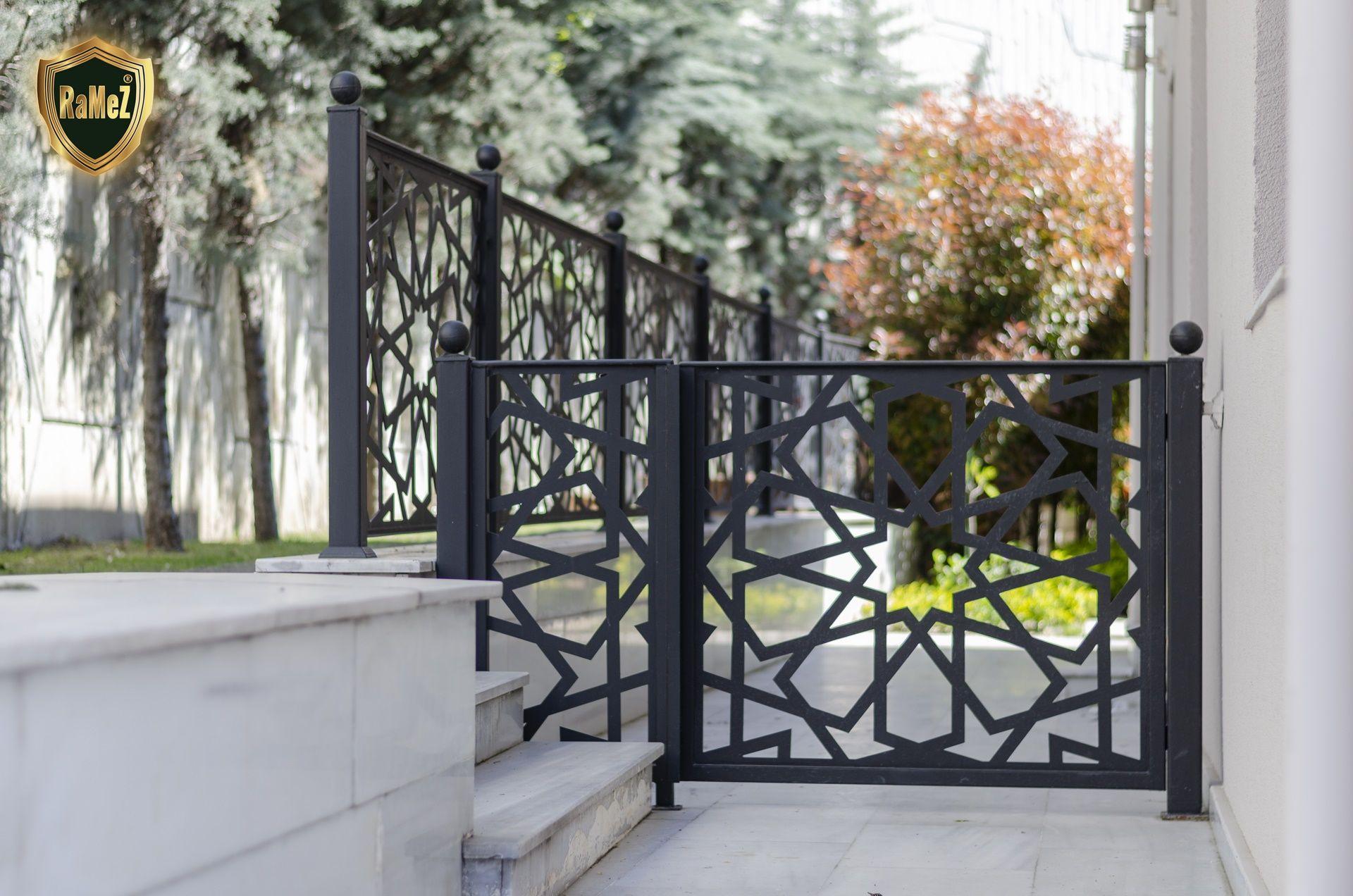 Ferforje Modellerimiz Wrought Iron Garden Gates, Ferforje ... encequiconcerne Balustrade De Jardin
