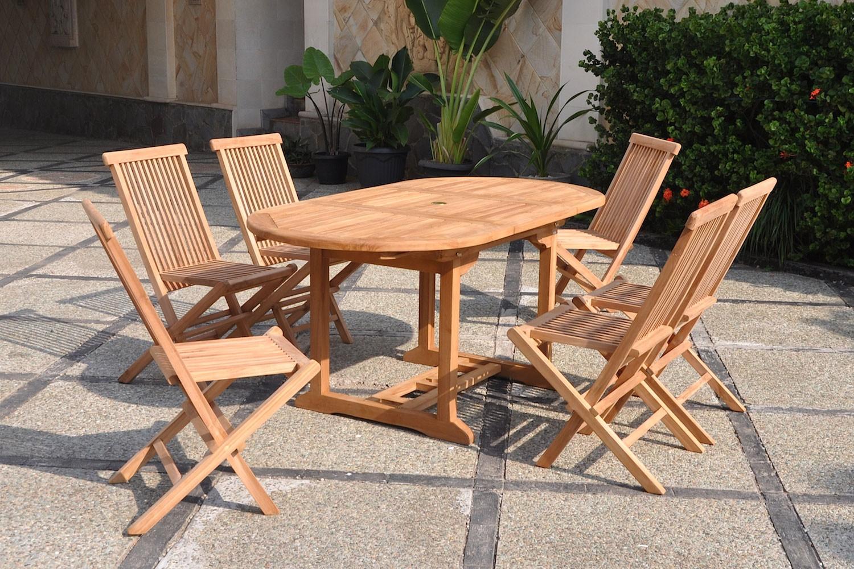 Festnight Salons De Jardin Ensemble De Mobilier De Jardin 4 ... intérieur Table Et Chaise De Jardin En Bois