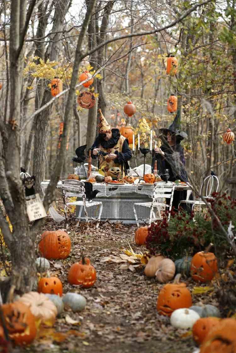 Fête Halloween: Idées Créatives Pour Un Décor Terrifiant pour Deco Jardin Halloween