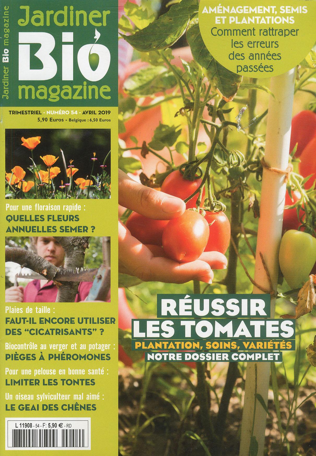 Fiche Produit - Catalogue Produits Mlp avec Jardiner Bio Magazine