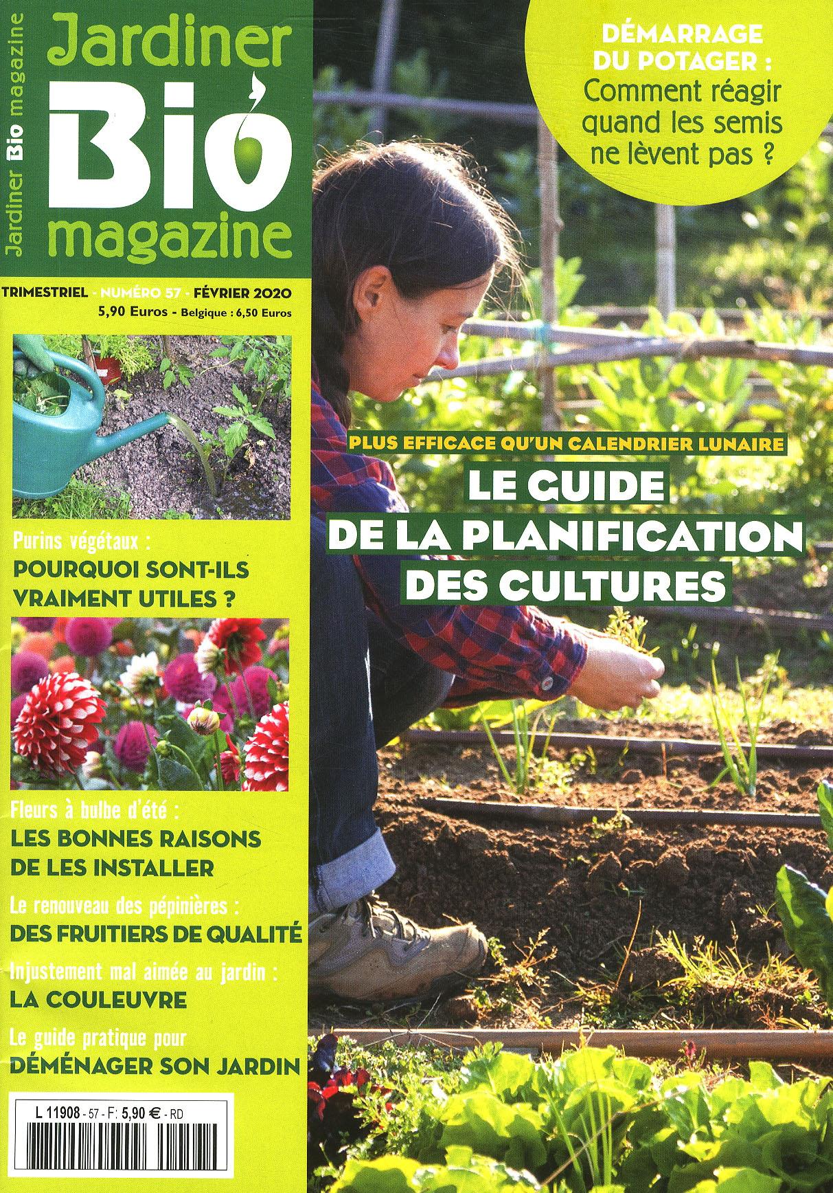 Fiche Produit - Catalogue Produits Mlp intérieur Jardiner Bio Magazine