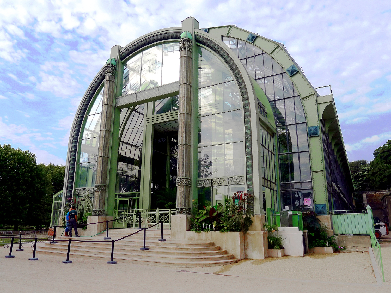 Fichier:p1040585 Paris V Grandes Serres Du Jardin Des ... concernant Exposition Serre De Jardin