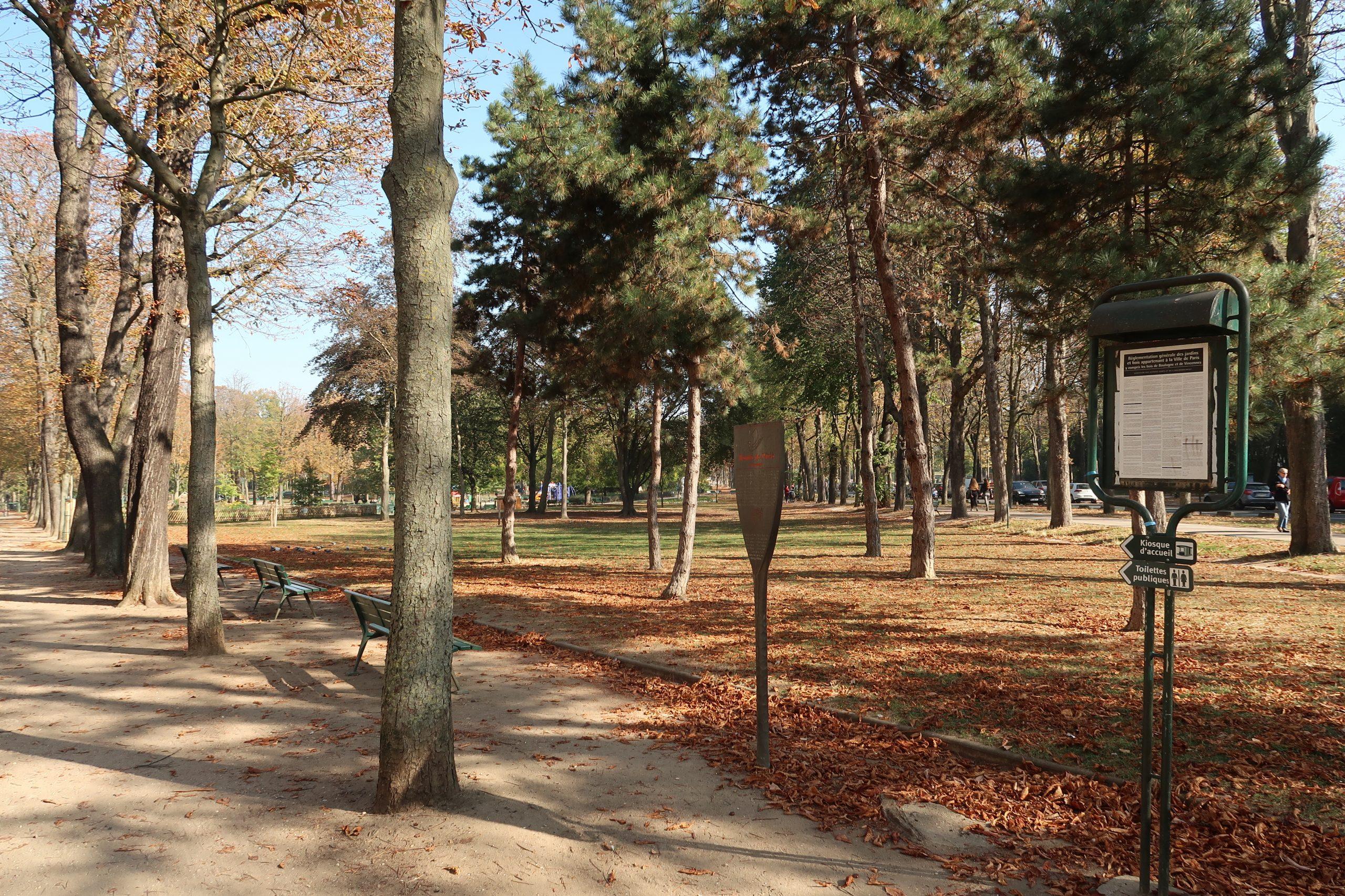 Fichier:panneau Histoire De Paris, Jardin Du Ranelagh, Paris ... pour Panneaux Bois Jardin