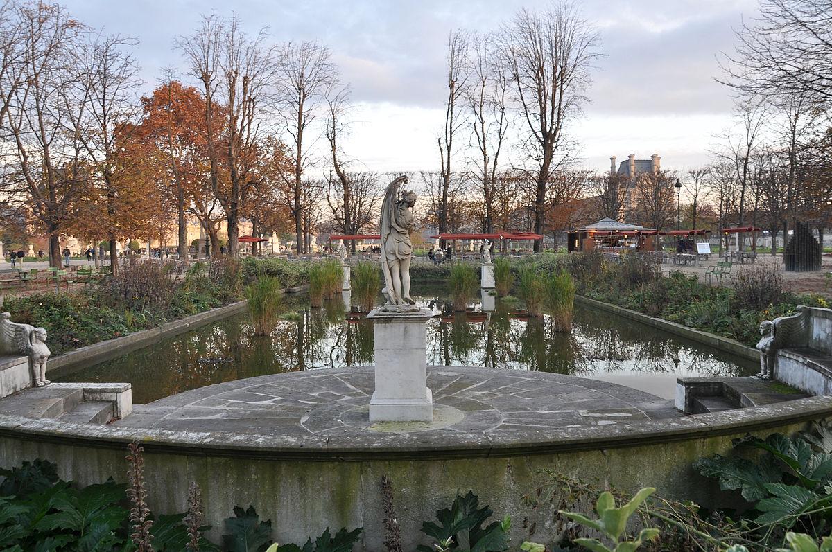 File:bassin Rectangulaire Sud Jardin Des Tuileries 001.jpg ... destiné Bassin De Jardin Rectangulaire