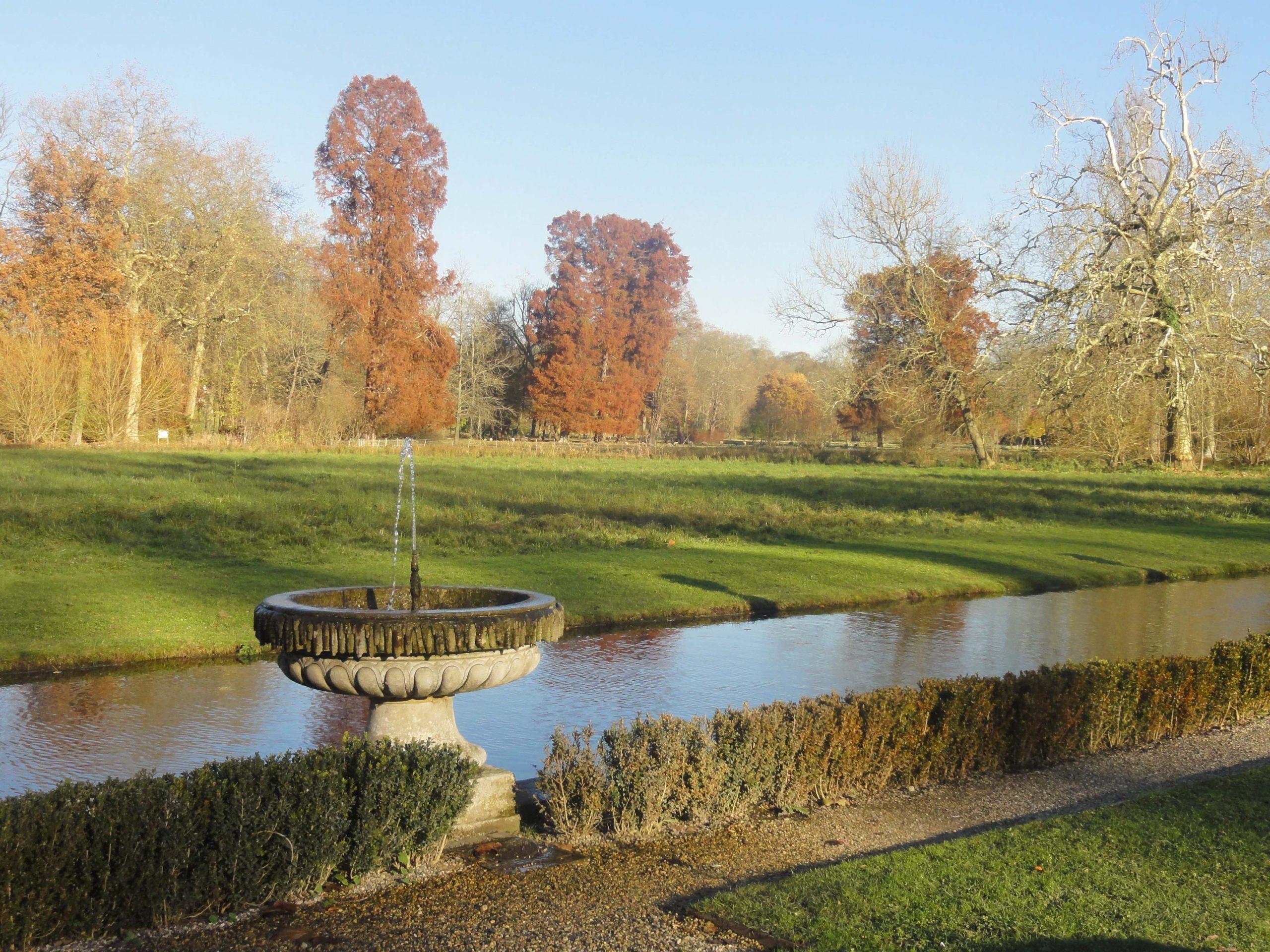 File:chantilly (60), Parc Du Château, Jardin Anglais, Île D ... intérieur Petite Fontaine De Jardin