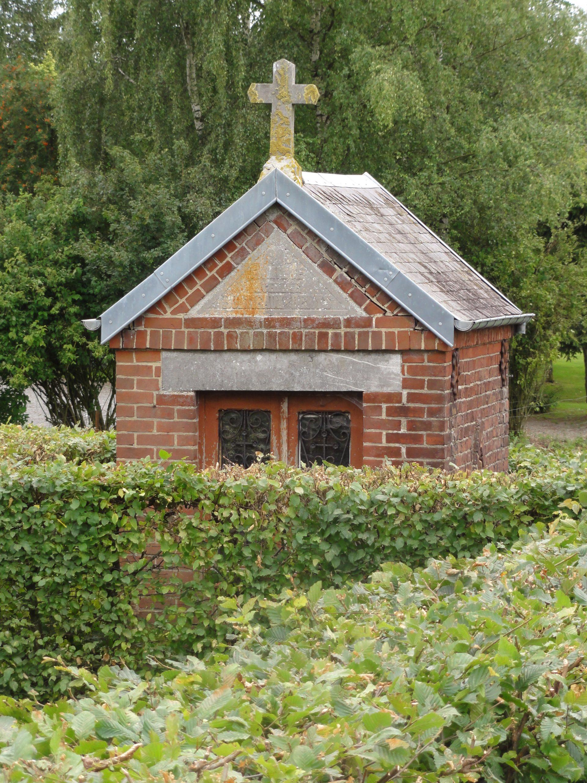 File:dimechaux (Nord, Fr) Chapelle Entre Jardinets Du Bourg ... pour Chaux Jardin