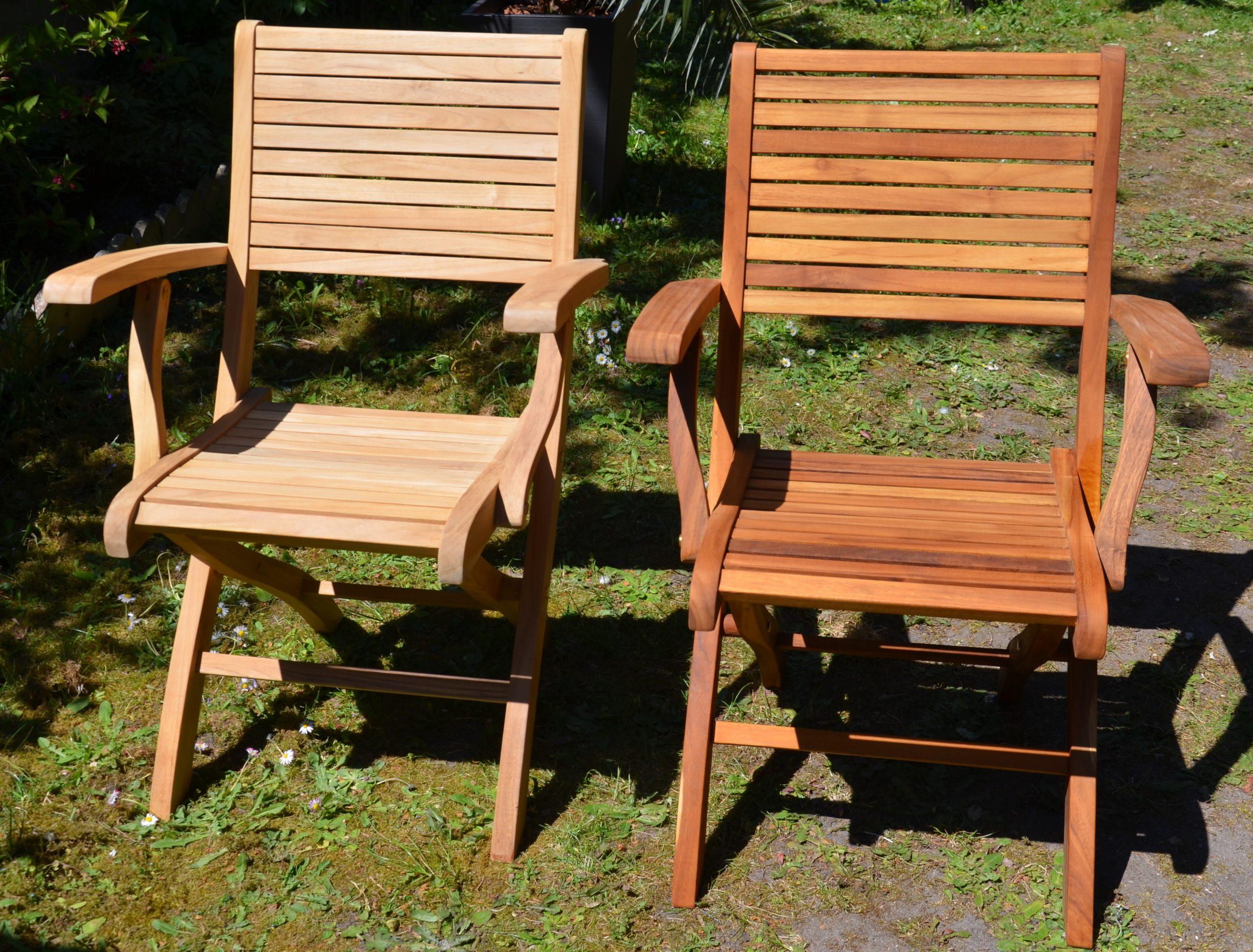 File:fauteuil De Jardin En Teck (Brut Et Huilé).jpg ... concernant Fauteuille De Jardin