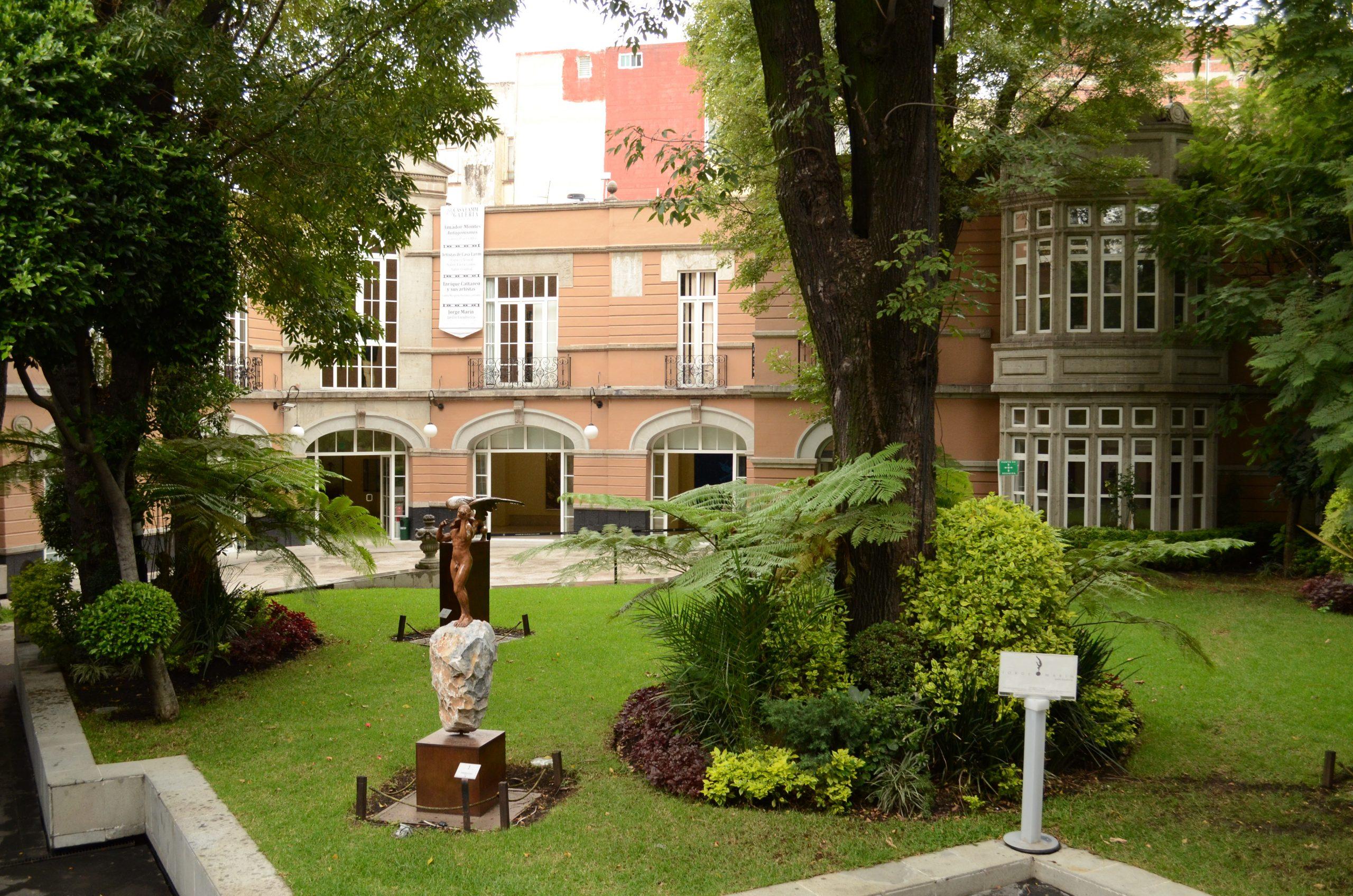 File:jardín Del Centro Cultural Casa Lamm.jpg - Wikimedia ... à Casa Salon De Jardin