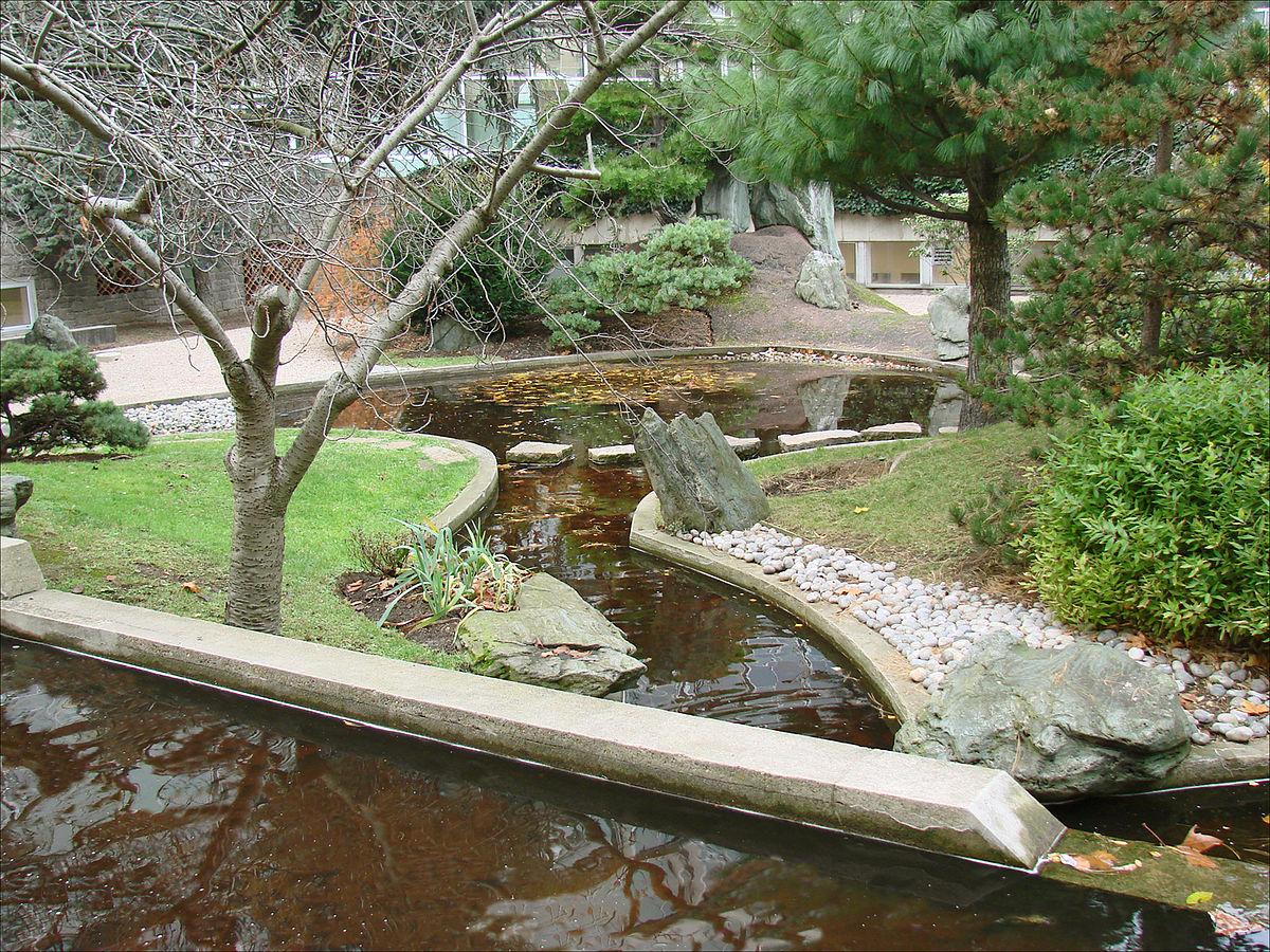 File:le Jardin Japonais De Noguchi (Unesco, Paris ... serapportantà Modele De Jardin Japonais