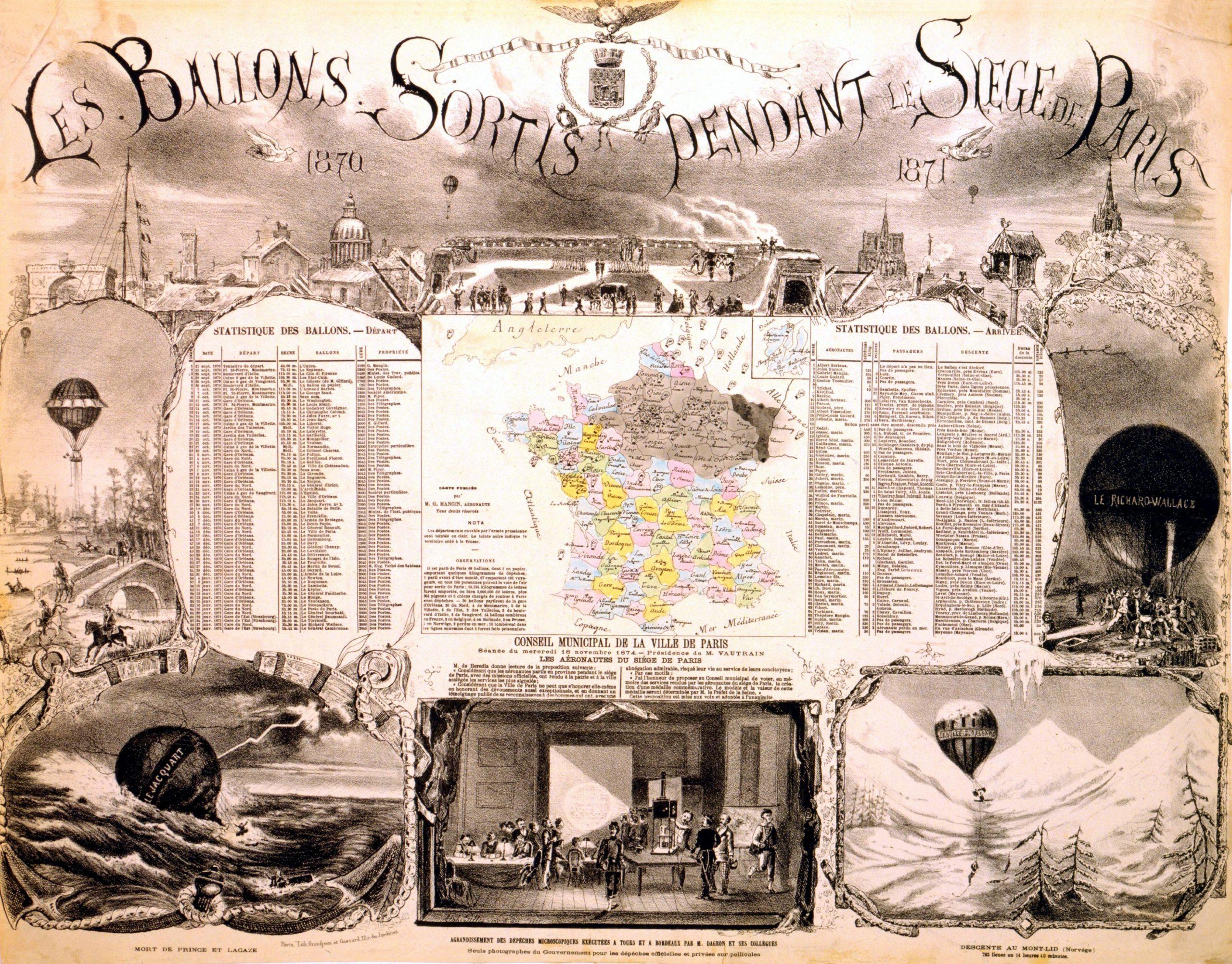 File:les Ballons Sortis Pendant Le Siege De Paris, 1870-1871 ... intérieur Siege Pour Jardiner