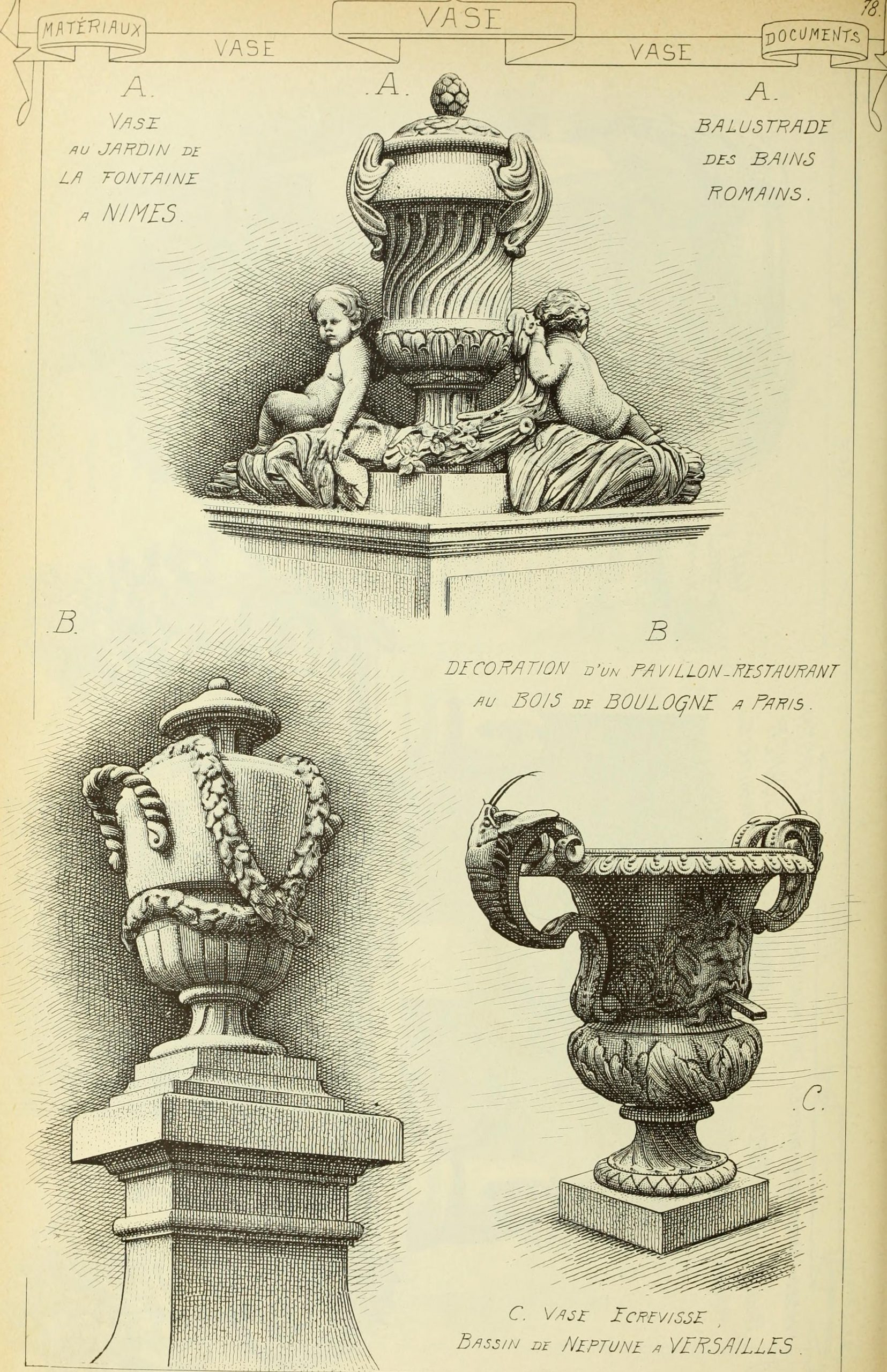File:materials And Documents Of Architecture And Sculpture ... avec Jardins Animés Sculpture