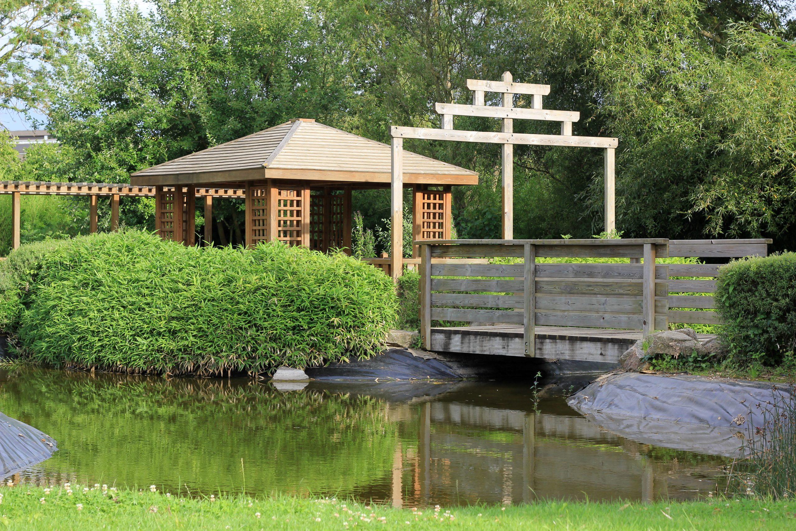 File:pavillon Du Jardin Japonais De Ludres.jpg - Wikimedia ... pour Modele De Jardin Japonais