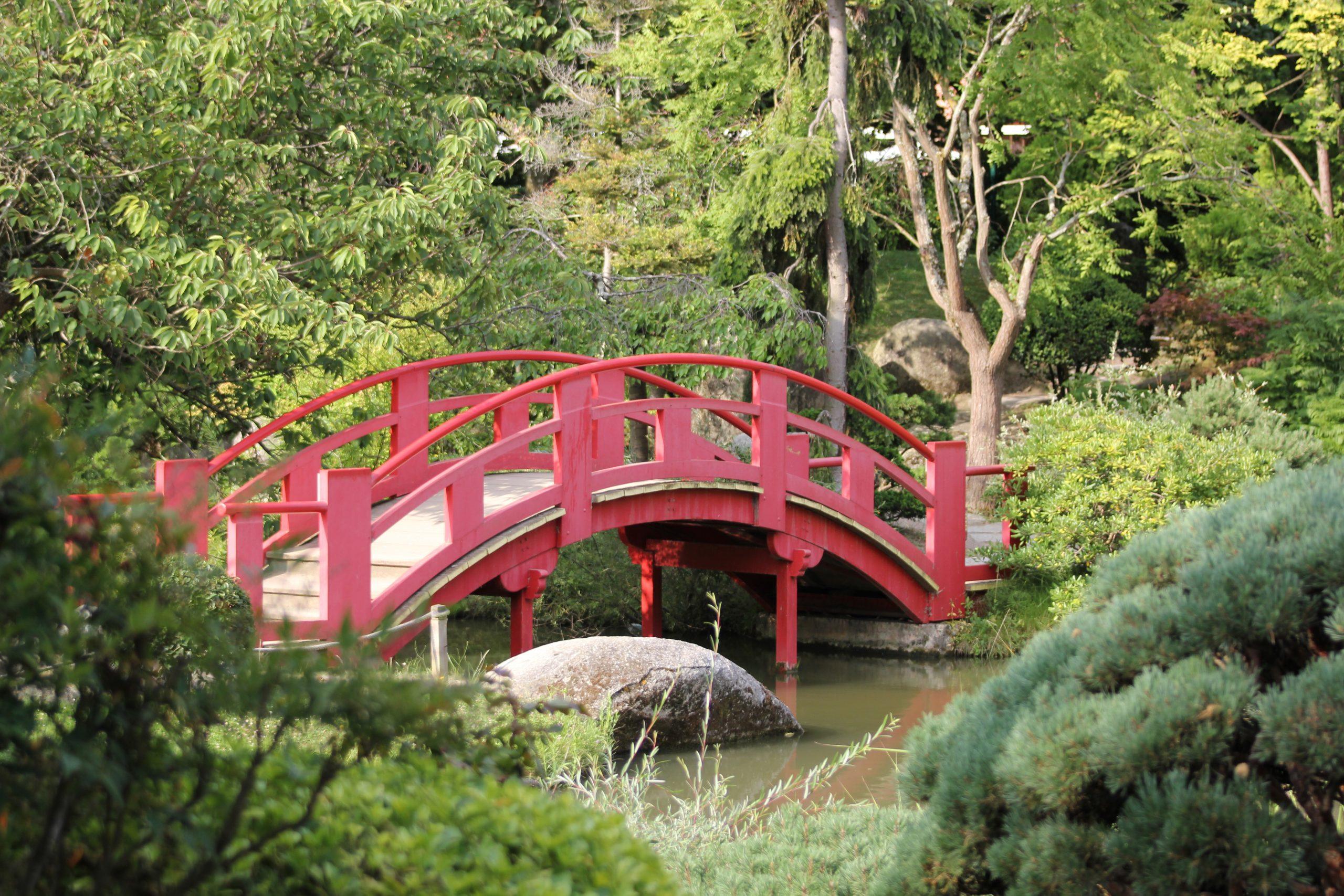 File:pont De La Lune Au Jardin Japonais.jpg - Wikimedia Commons serapportantà Modele De Jardin Japonais