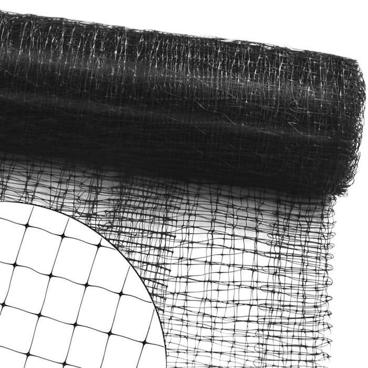 Filet De Protection Filet Anti Oiseau, Pigeon | Volaille | Jardin, Arbre  Fruiter, Balcon, Bassin, Etc. | Maillage 13Mm - 2M (L) X 5M avec Filet De Protection Jardin