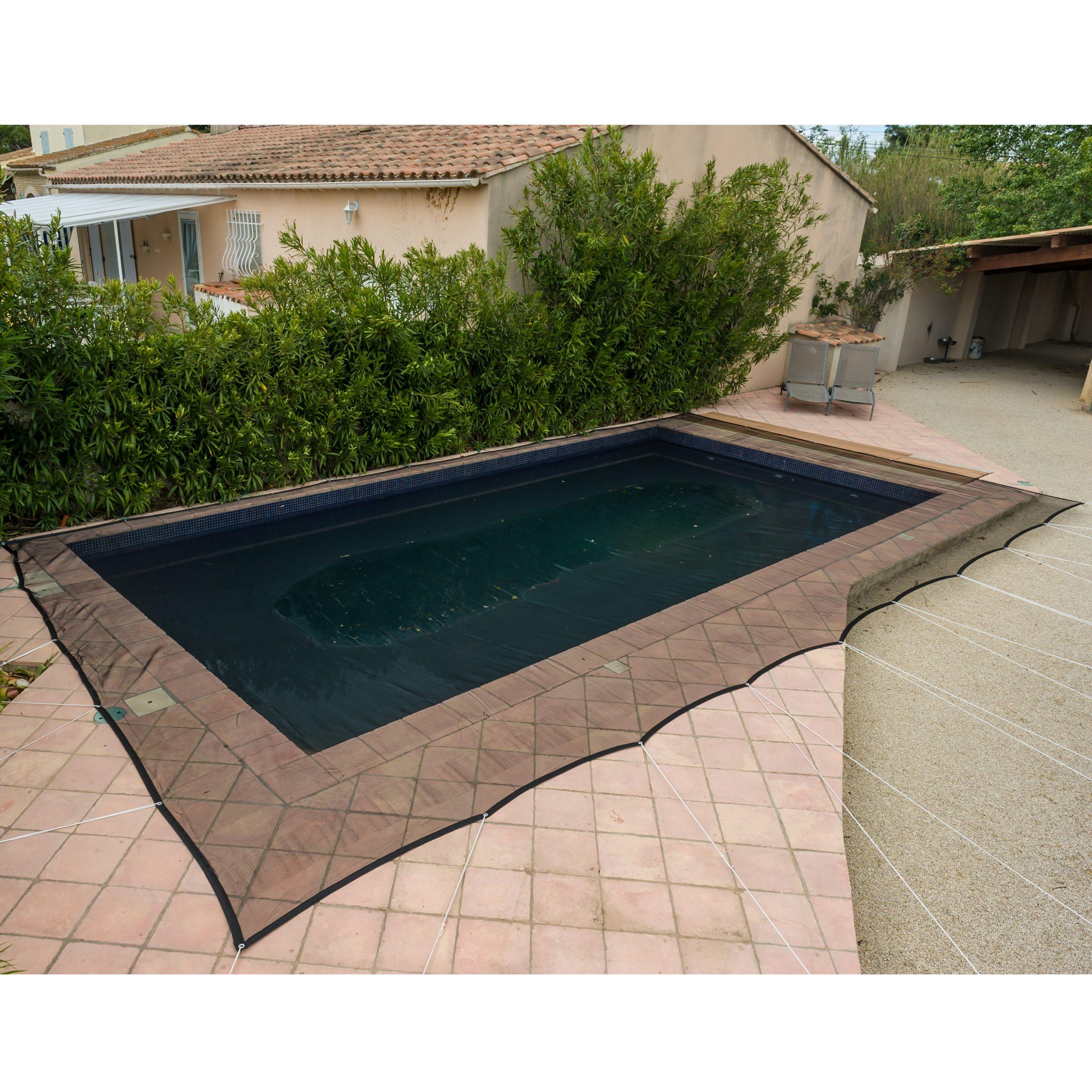 Filet De Protection Piscine 100G/m² Werkapro (8X14M) avec Filet De Protection Jardin