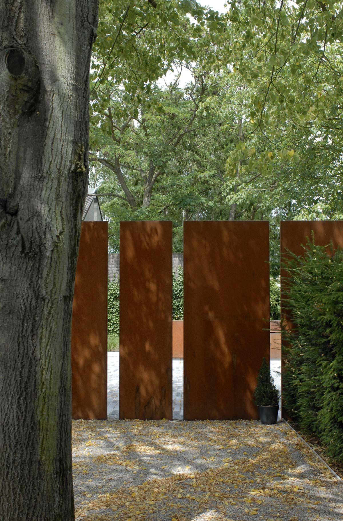 Filip Van Damme - Beautiful Fence   Rambardes...   Brise Vue ... à Idee Brise Vue Jardin